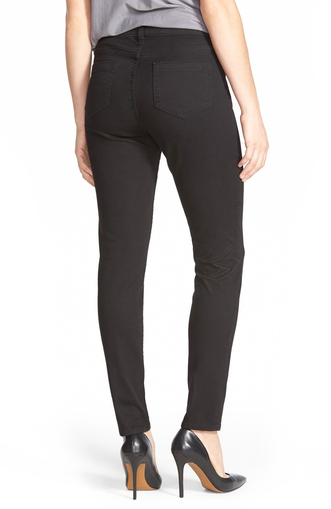 Stretch Skinny Jeans,                             Alternate thumbnail 2, color,                             001