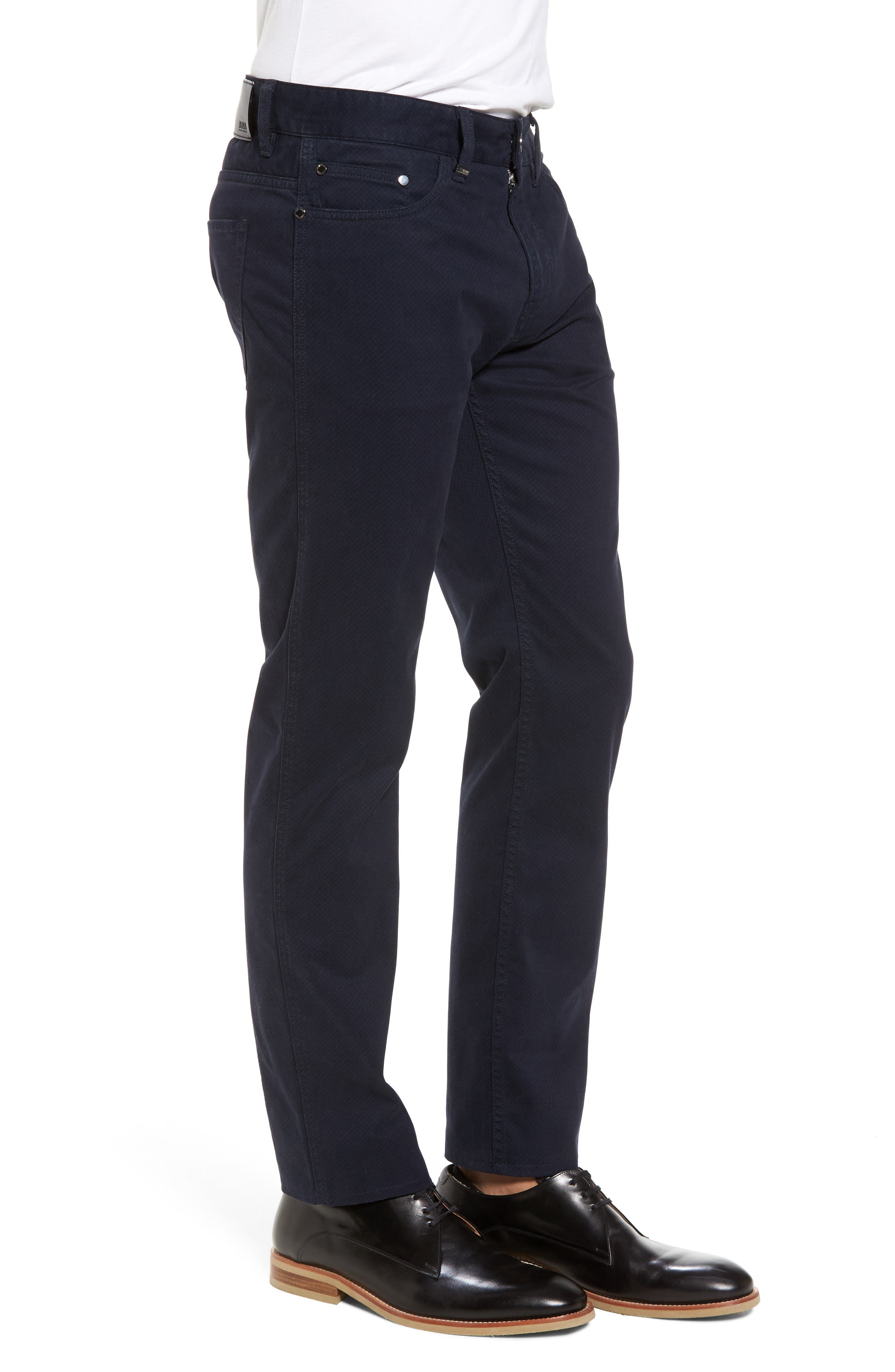 Delaware Slim Fit Pants,                             Alternate thumbnail 3, color,                             410