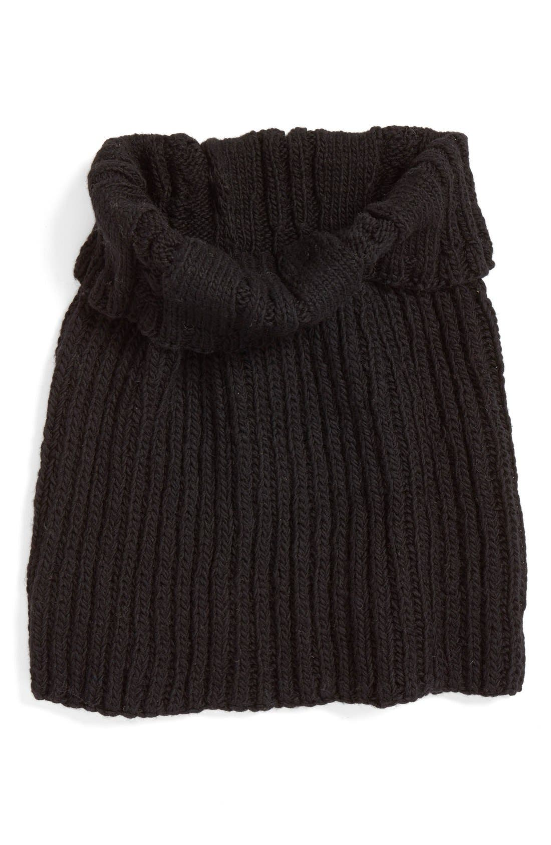 Oversize Cable Knit Wool Infinity Scarf,                             Main thumbnail 2, color,