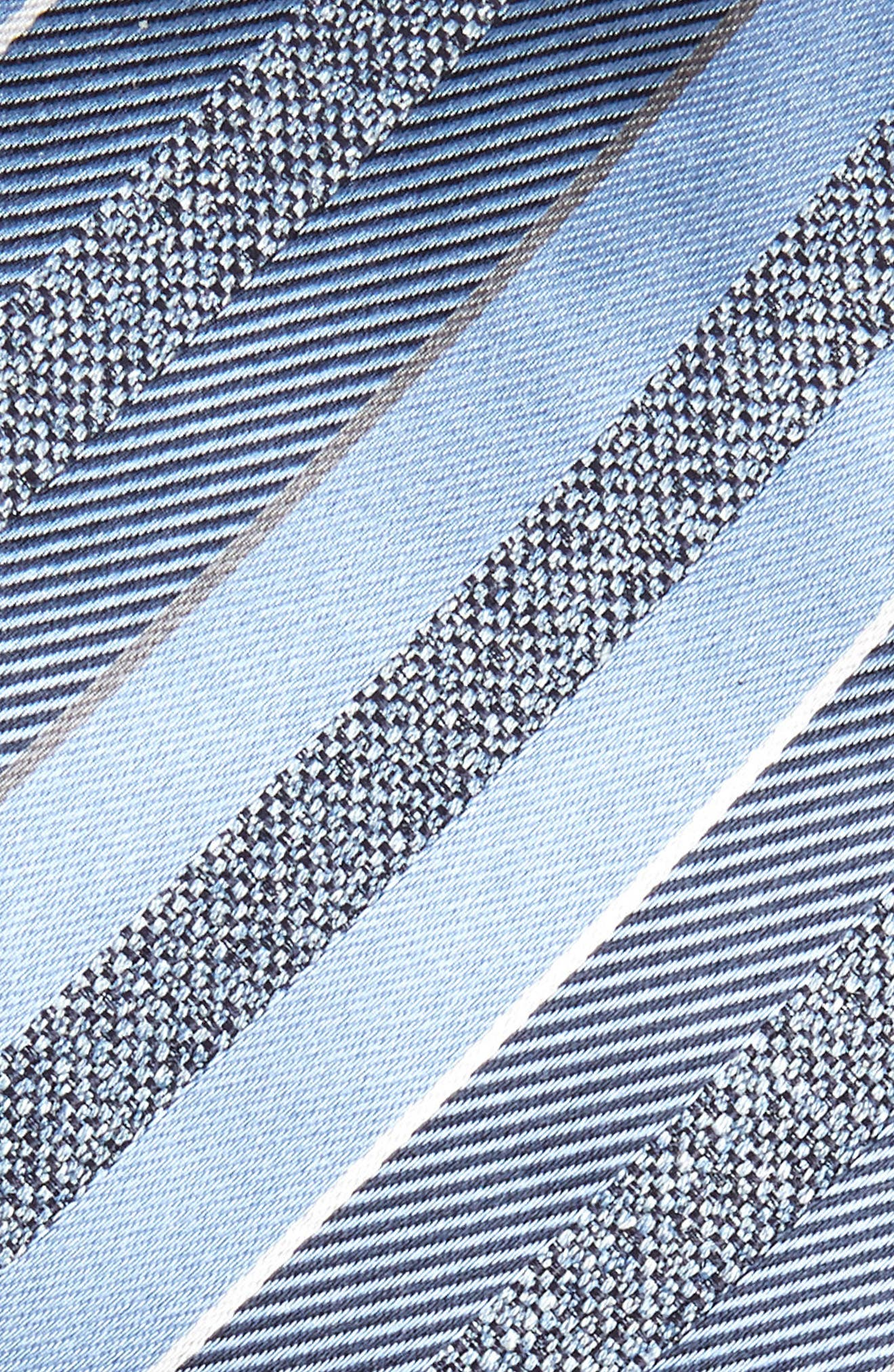 Stripe Silk Tie,                             Alternate thumbnail 2, color,                             451