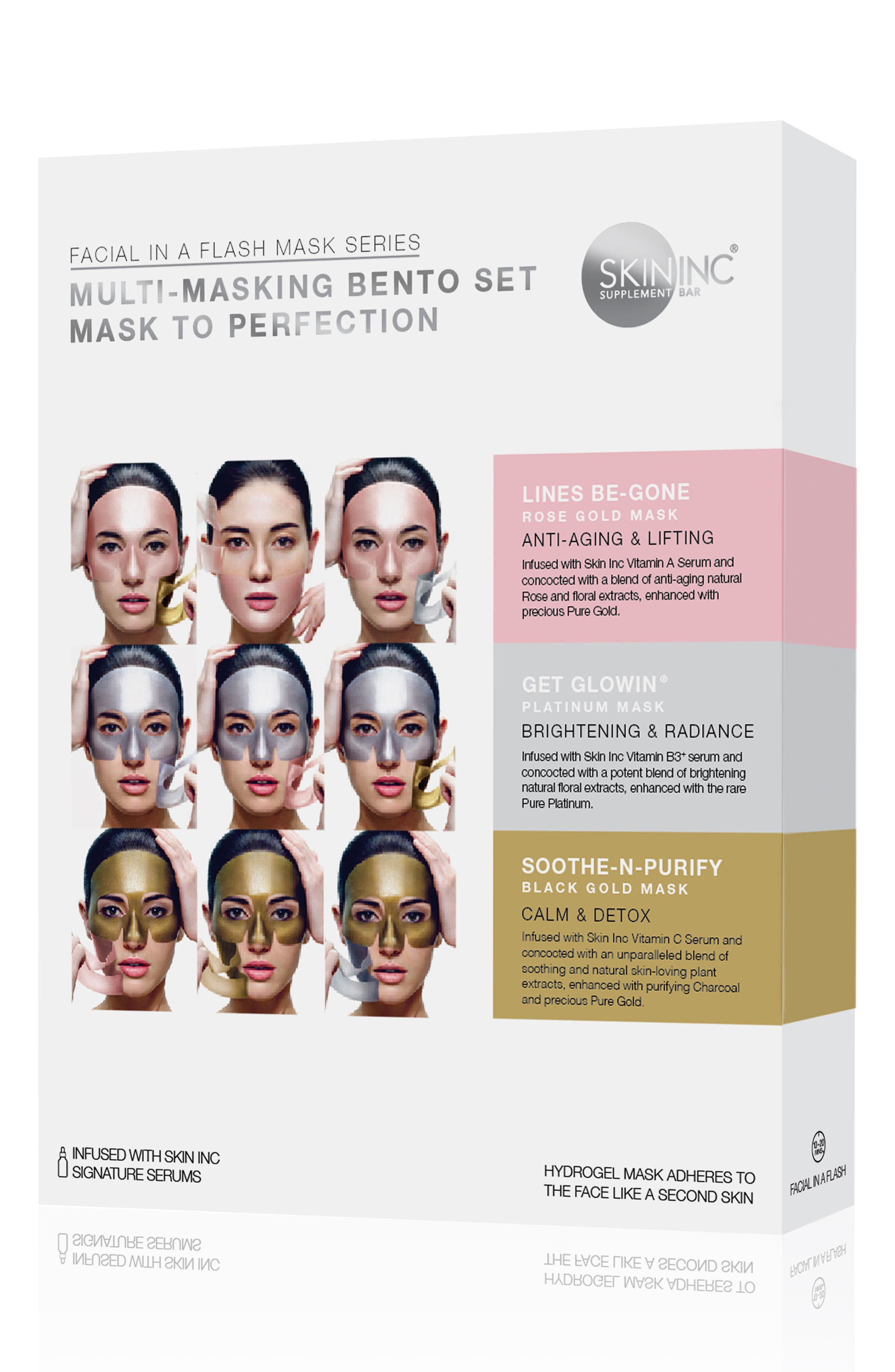 Multi-Masking Bento Set,                             Alternate thumbnail 2, color,                             000
