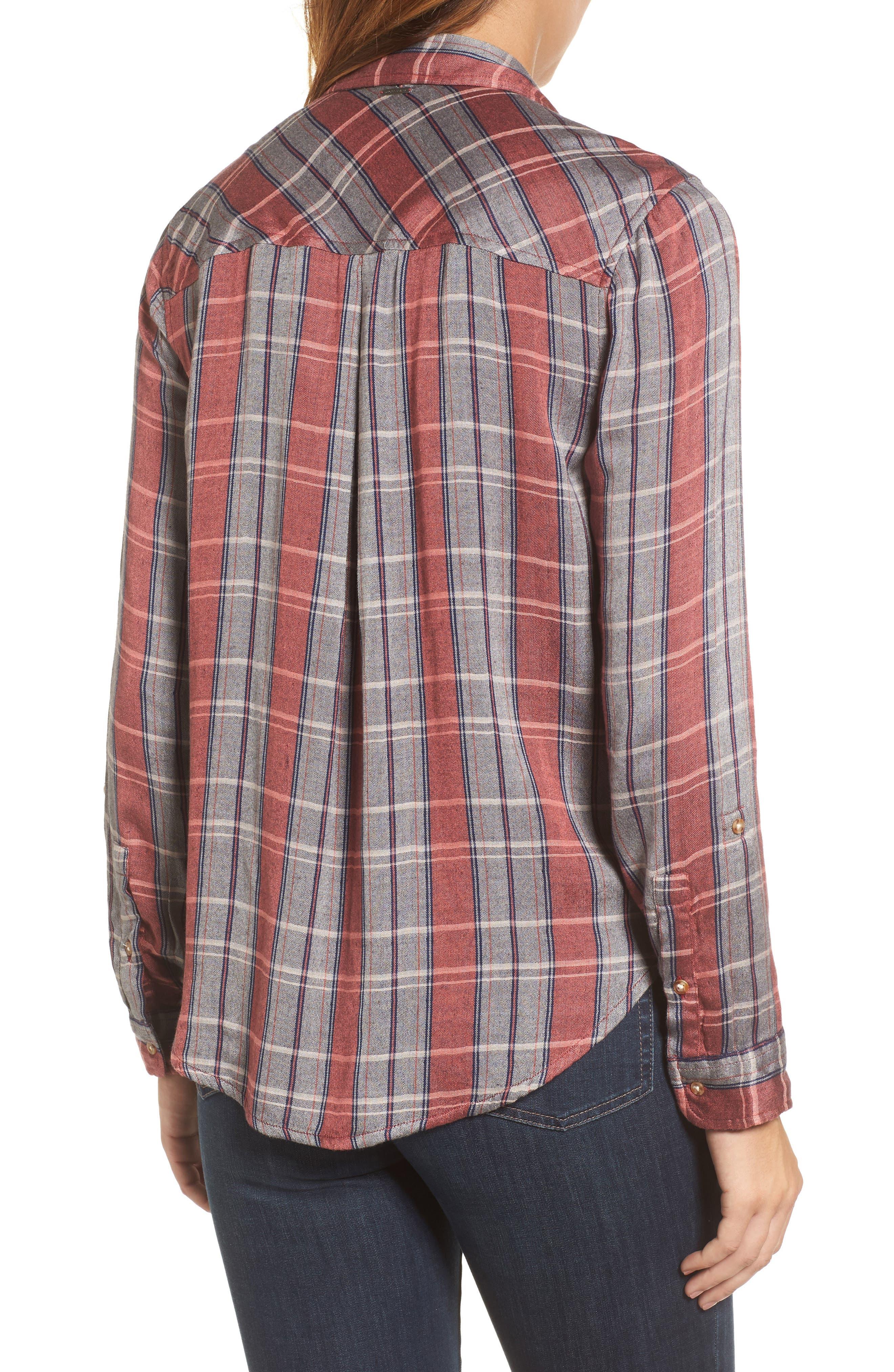 Plaid Pocket Shirt,                             Alternate thumbnail 2, color,                             065