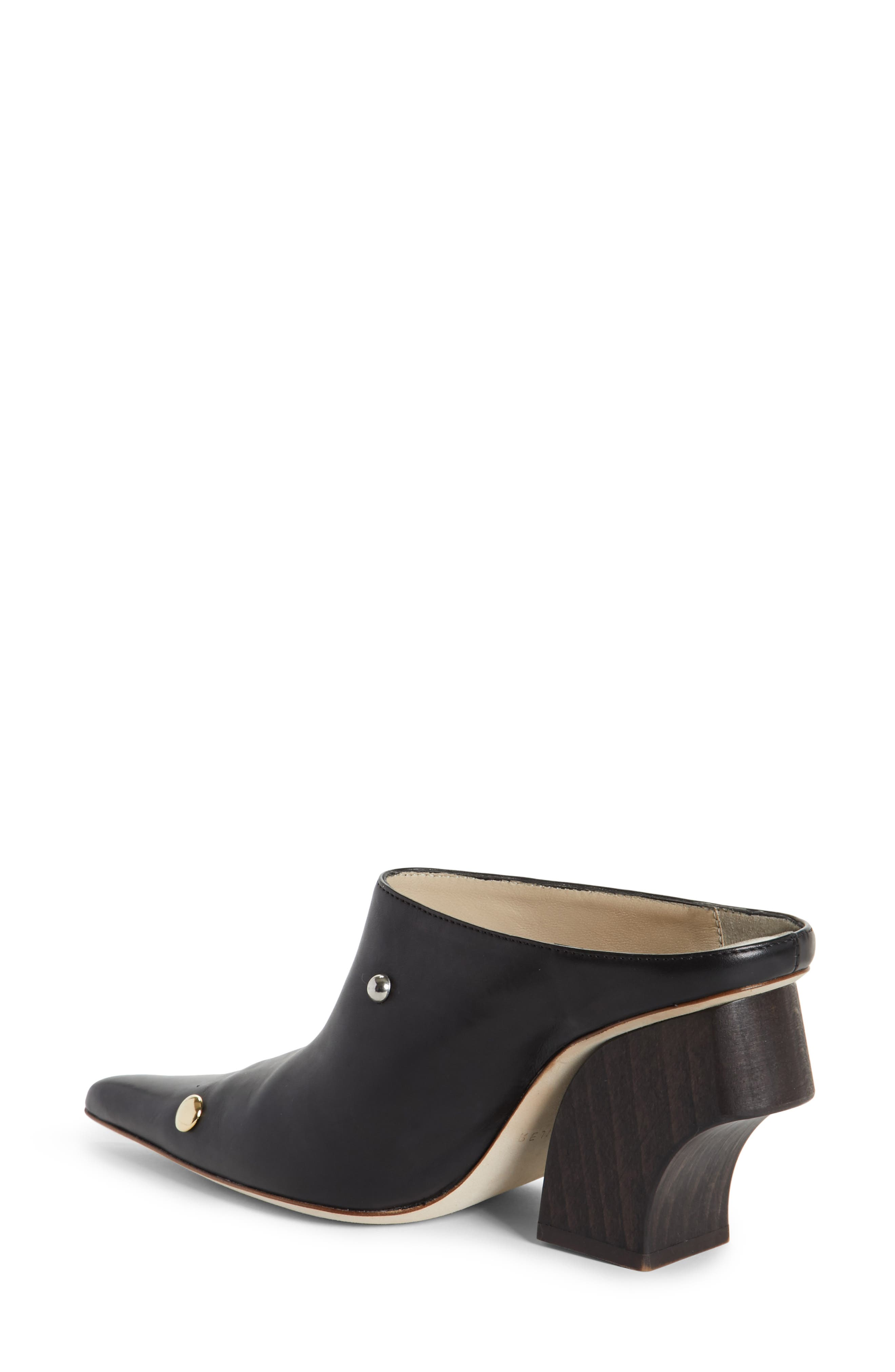 Yamin Curved Heel Mule,                             Alternate thumbnail 2, color,                             001