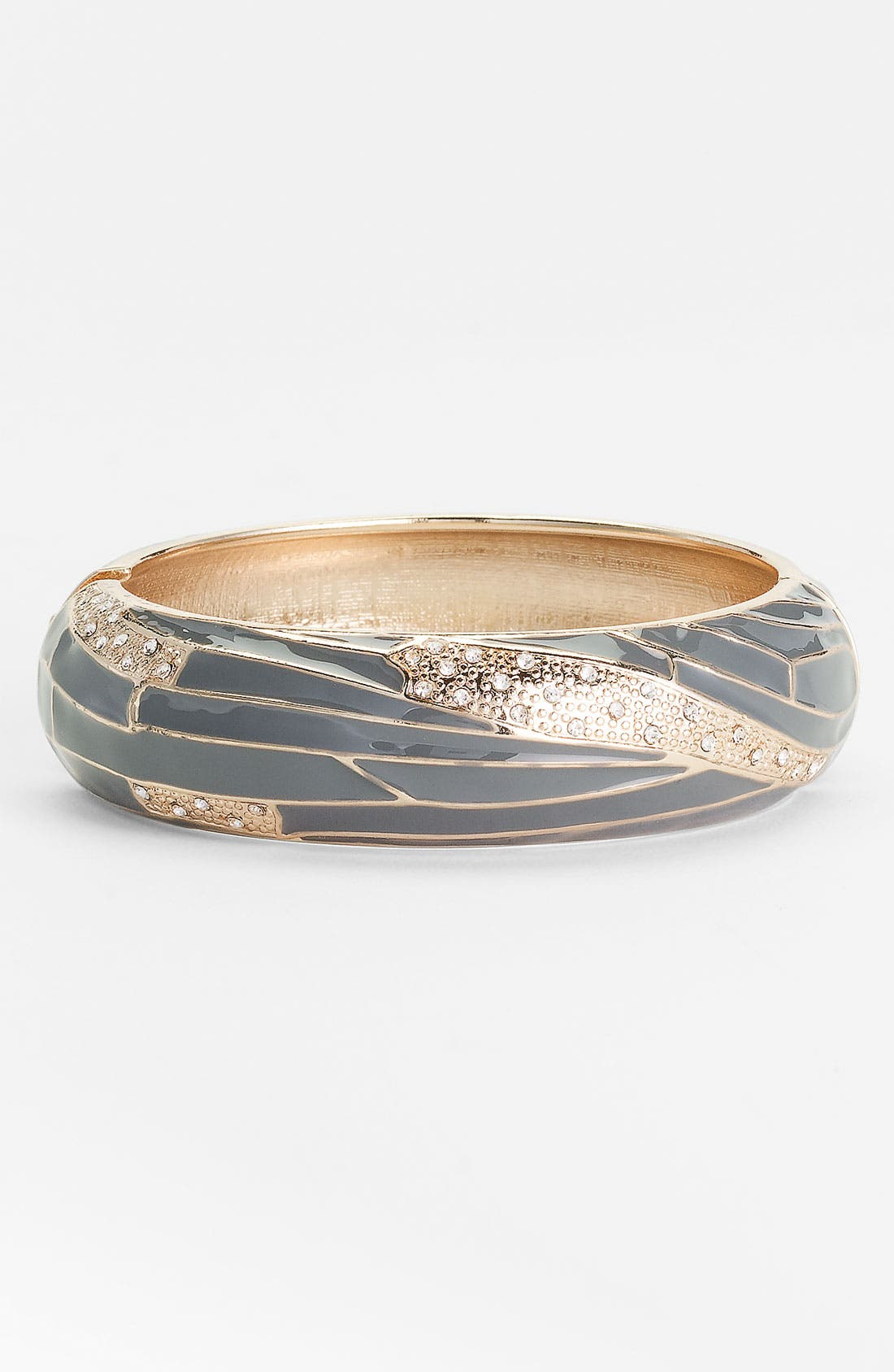 Large Insect Wing Enamel Bangle,                             Main thumbnail 3, color,