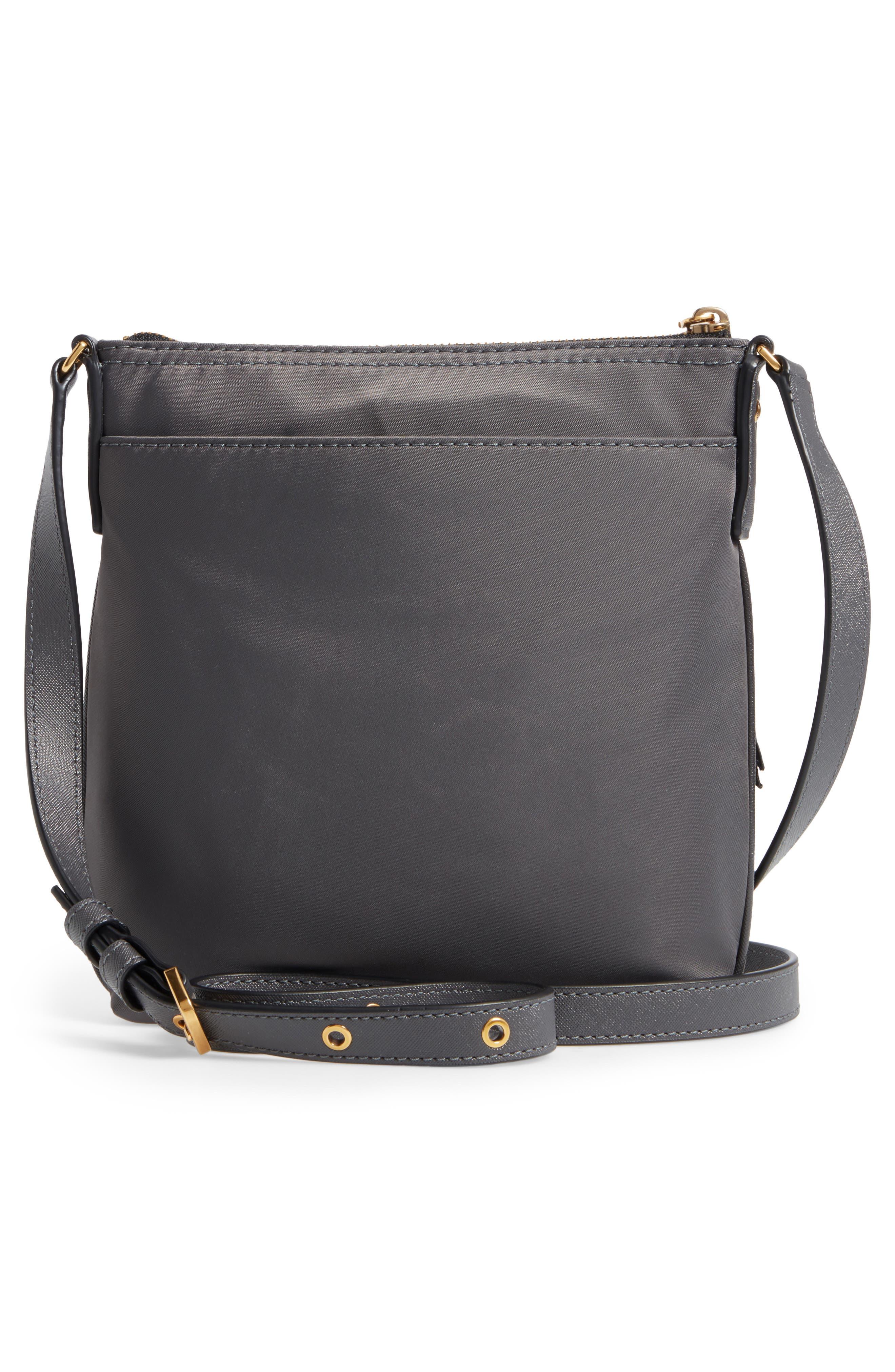 Trooper Nylon Crossbody Bag,                             Alternate thumbnail 3, color,                             022