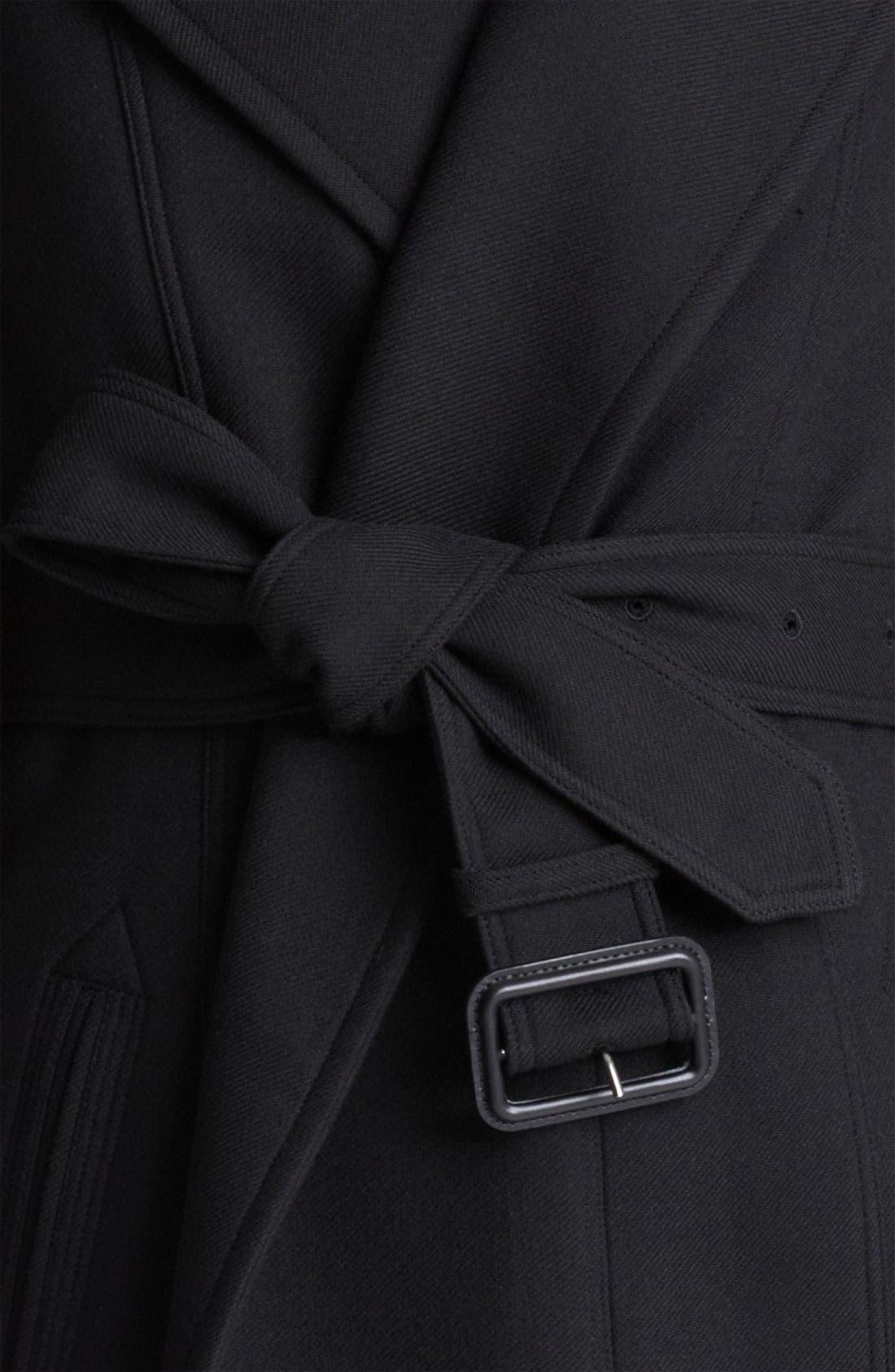 Blanket Wrap Military Jacket,                             Alternate thumbnail 2, color,                             001