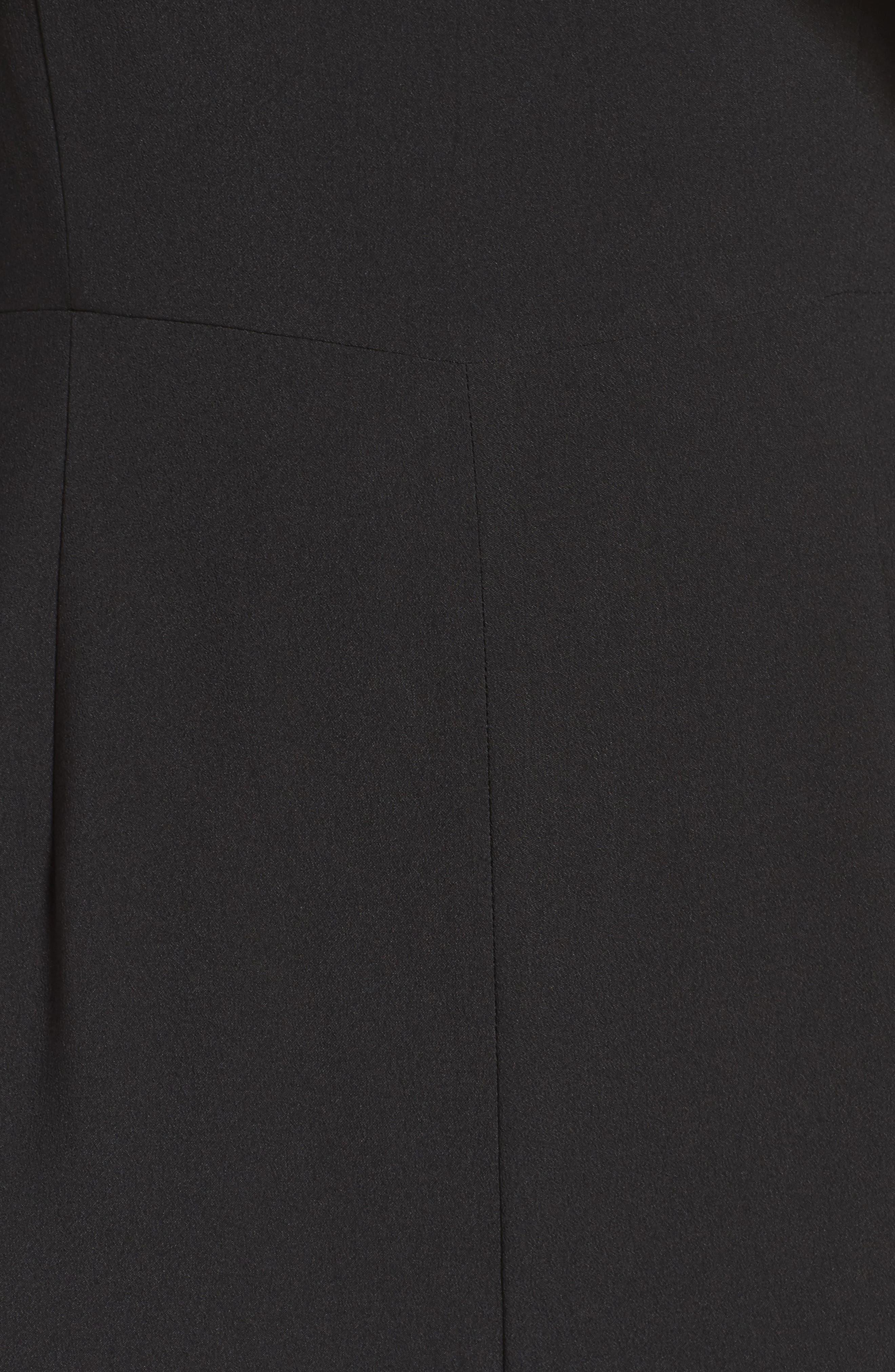 Cold Shoulder Jumpsuit,                             Alternate thumbnail 5, color,                             001