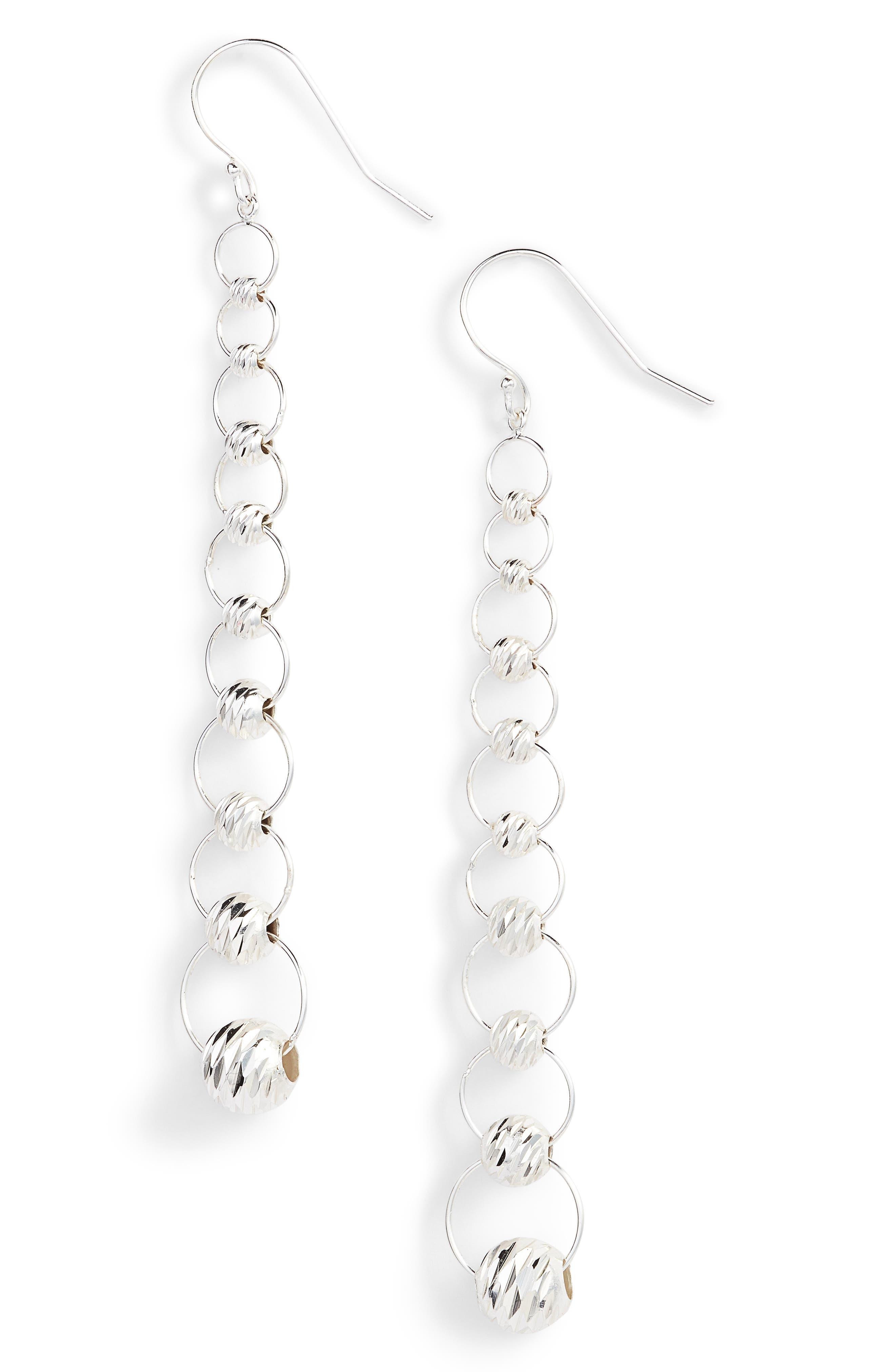 Chain Drop Earrings,                         Main,                         color, 040
