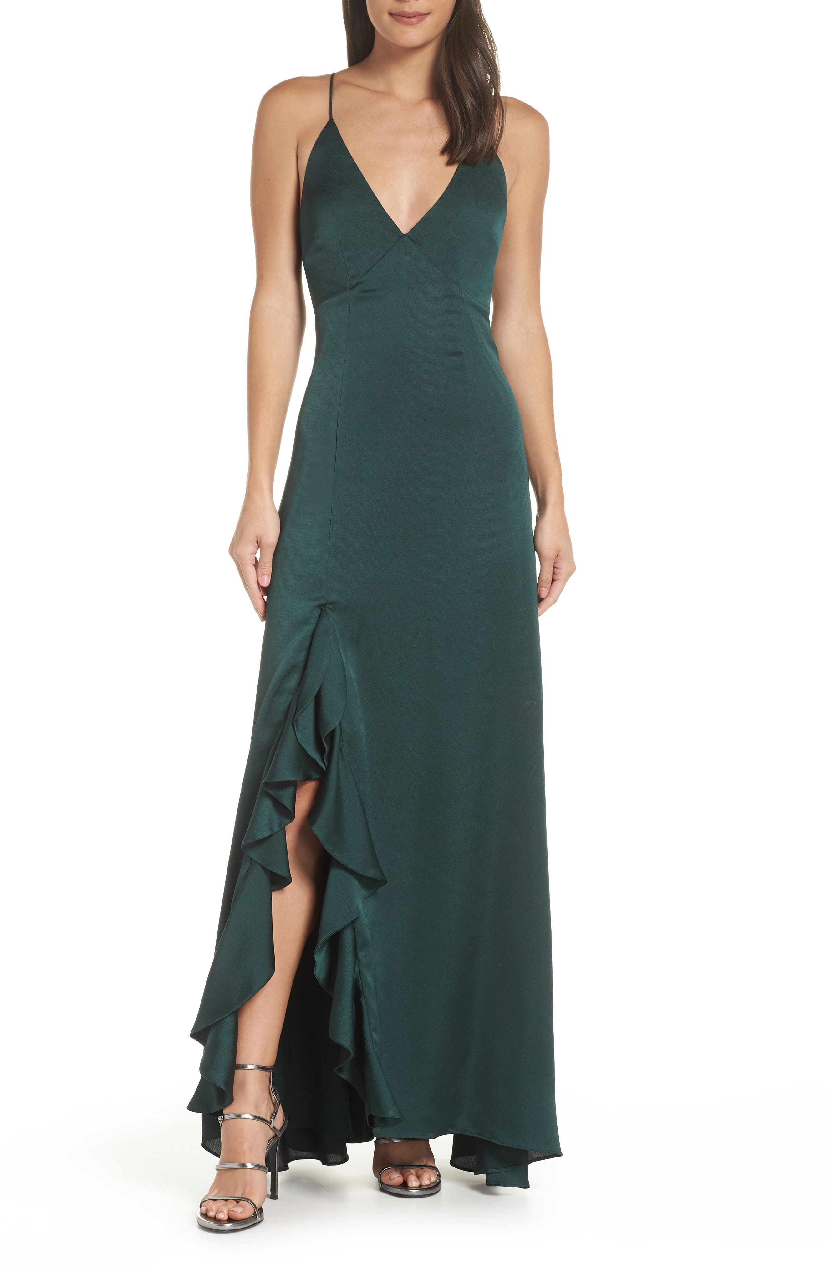Keepsake The Label Infinity Gown, Green