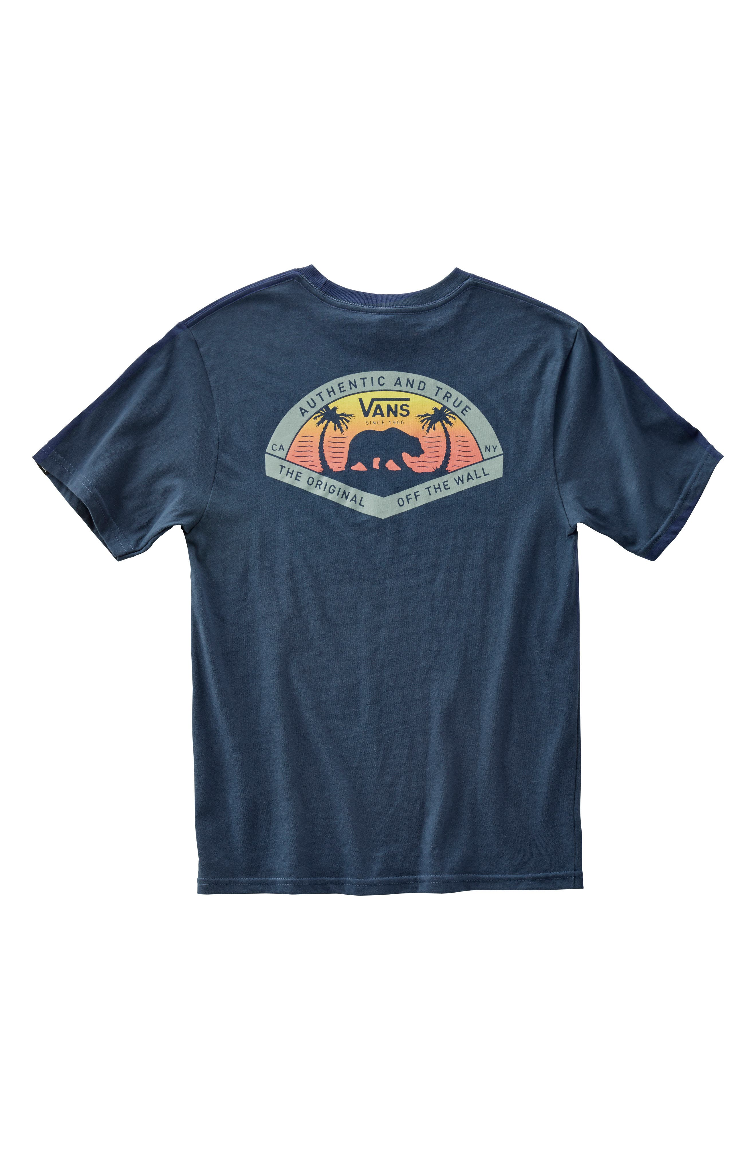 Grizzly Beach Graphic T-Shirt,                             Alternate thumbnail 4, color,