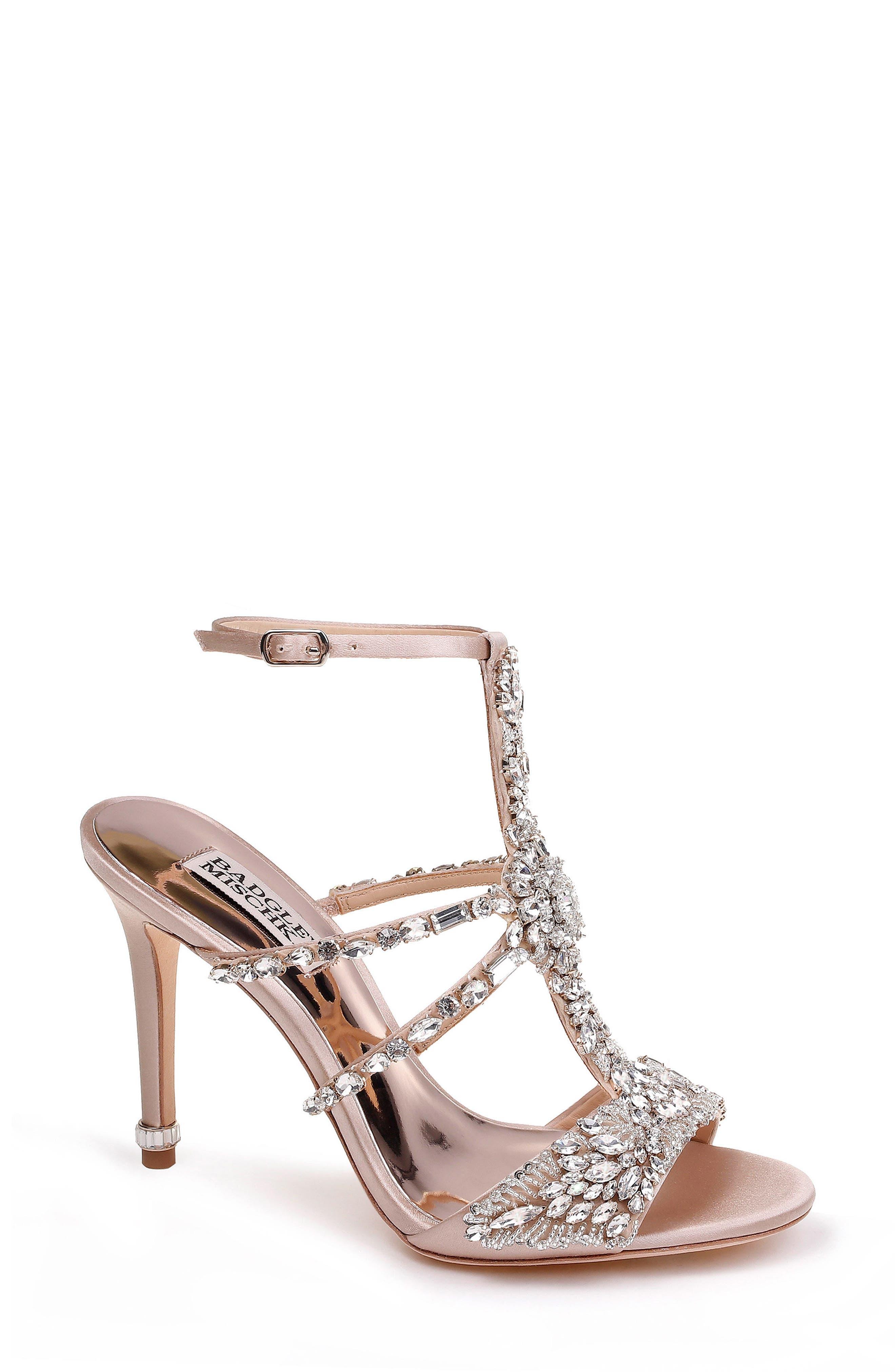 Hughes Crystal Embellished Sandal,                             Main thumbnail 2, color,