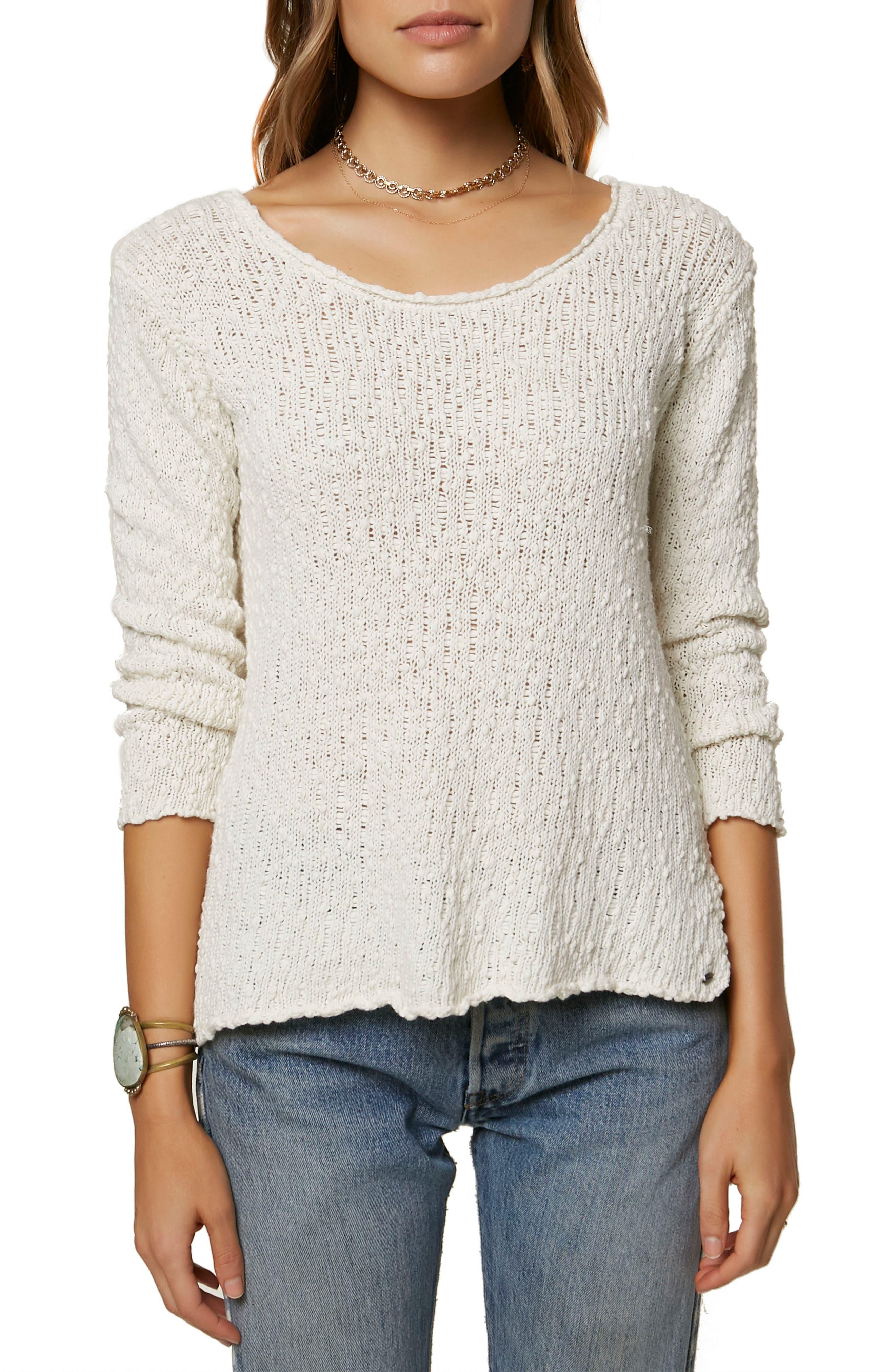 Rocha Pullover Sweater,                         Main,                         color, 100