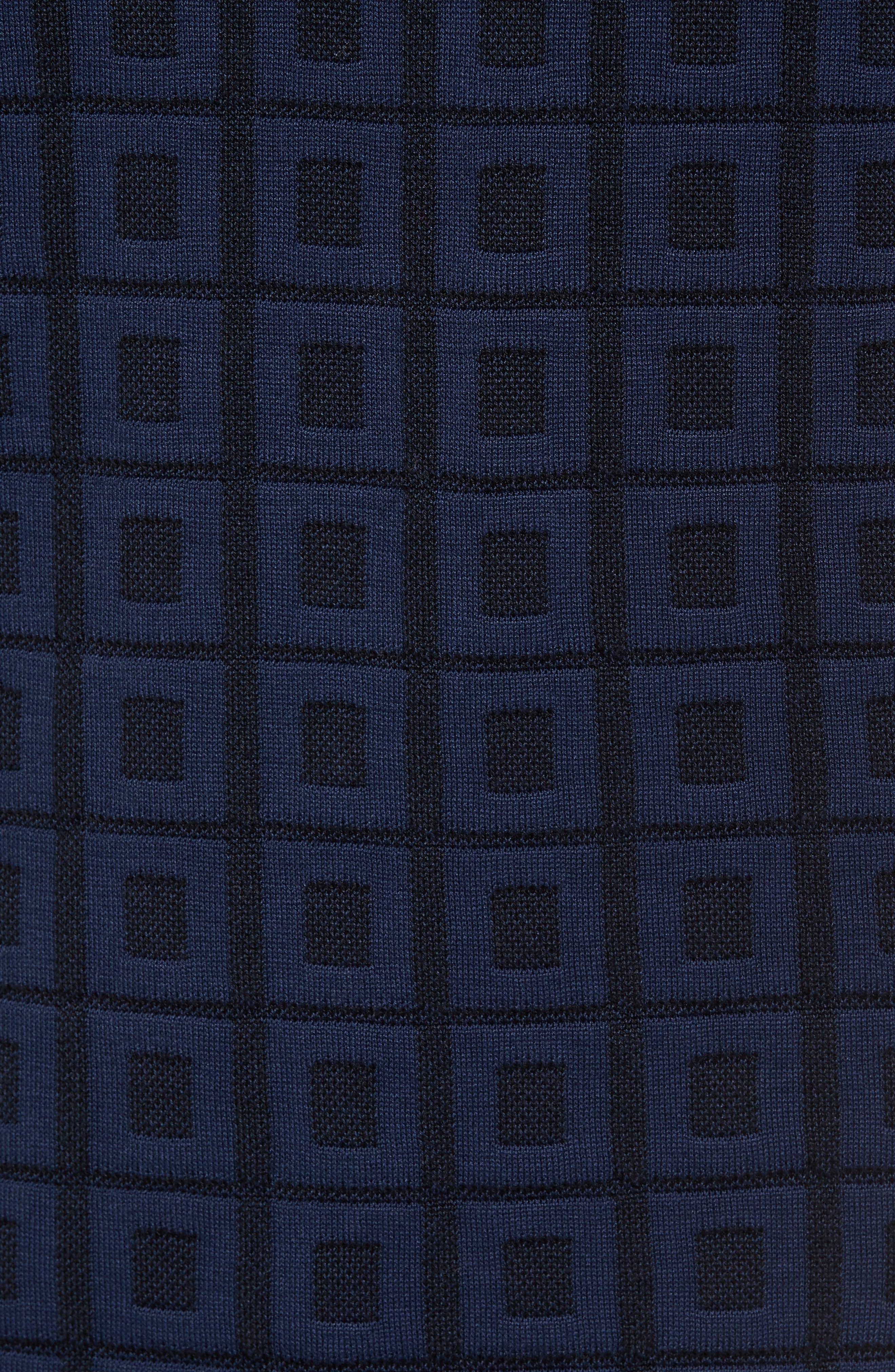 Jacquard Polo,                             Alternate thumbnail 5, color,                             001