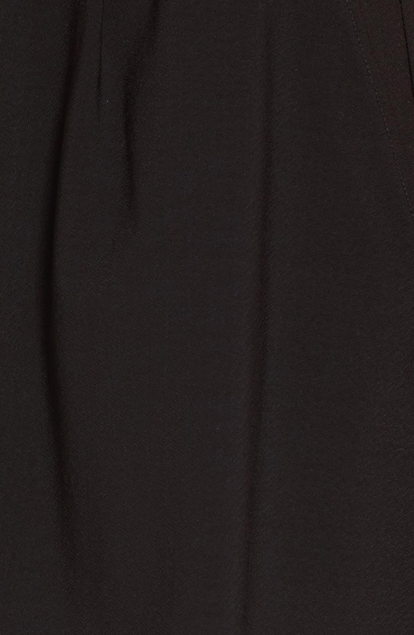 Pleat Front Shorts,                             Alternate thumbnail 5, color,                             001