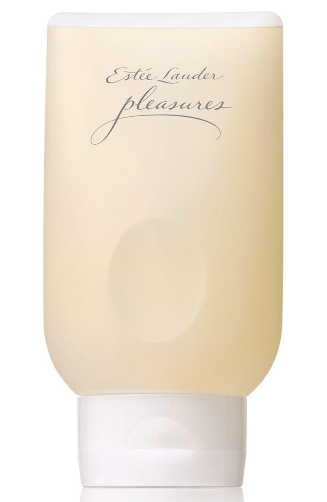 pleasures Bath and Shower Gel,                             Main thumbnail 1, color,