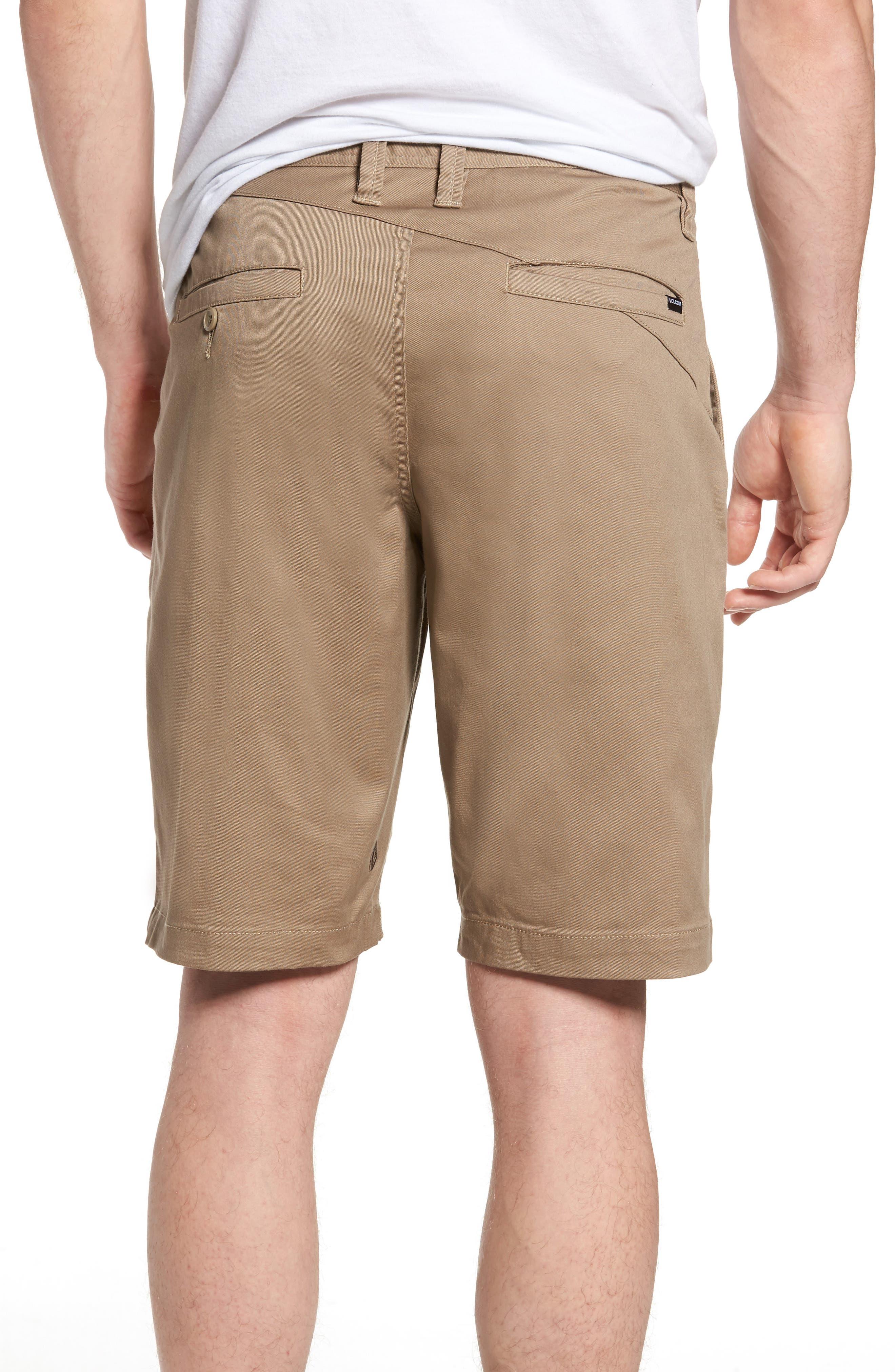 'Modern' Stretch Chino Shorts,                             Alternate thumbnail 30, color,