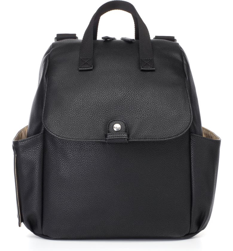 Robyn Convertible Faux Leather Diaper Backpack