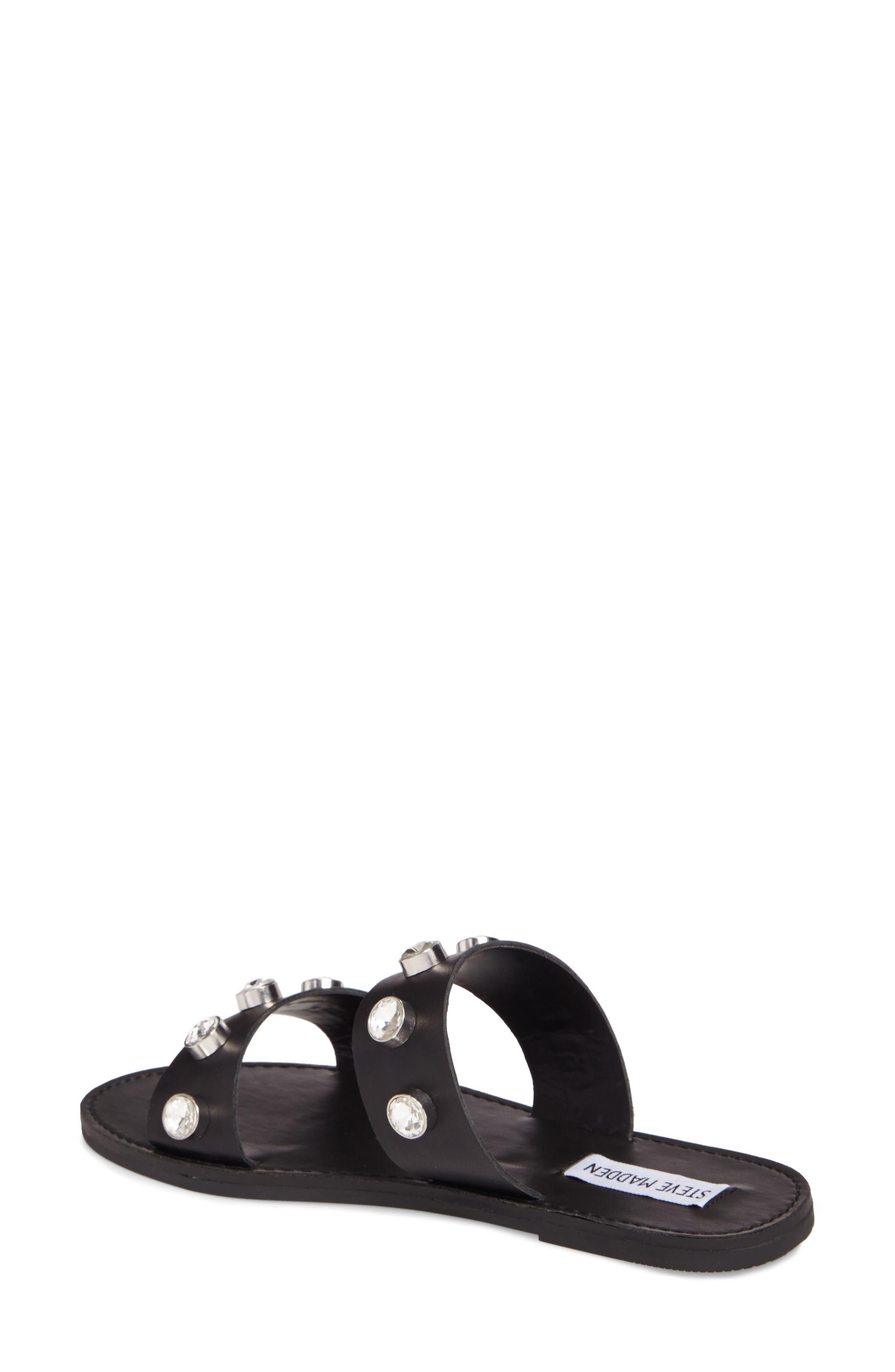 Jessy Embellished Slide Sandal,                             Alternate thumbnail 2, color,                             001