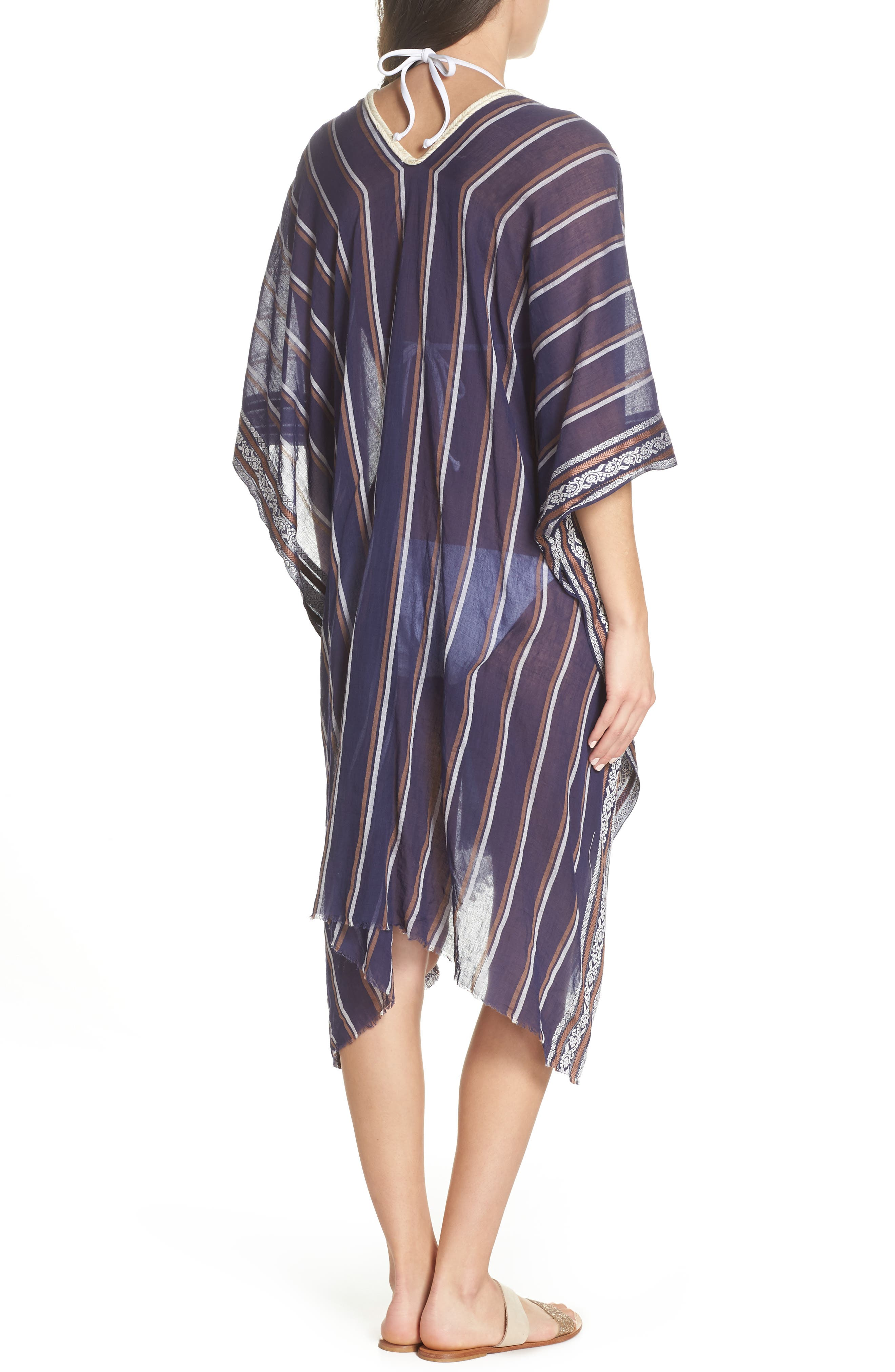 Cover-Up Tunic,                             Alternate thumbnail 2, color,                             NAVY