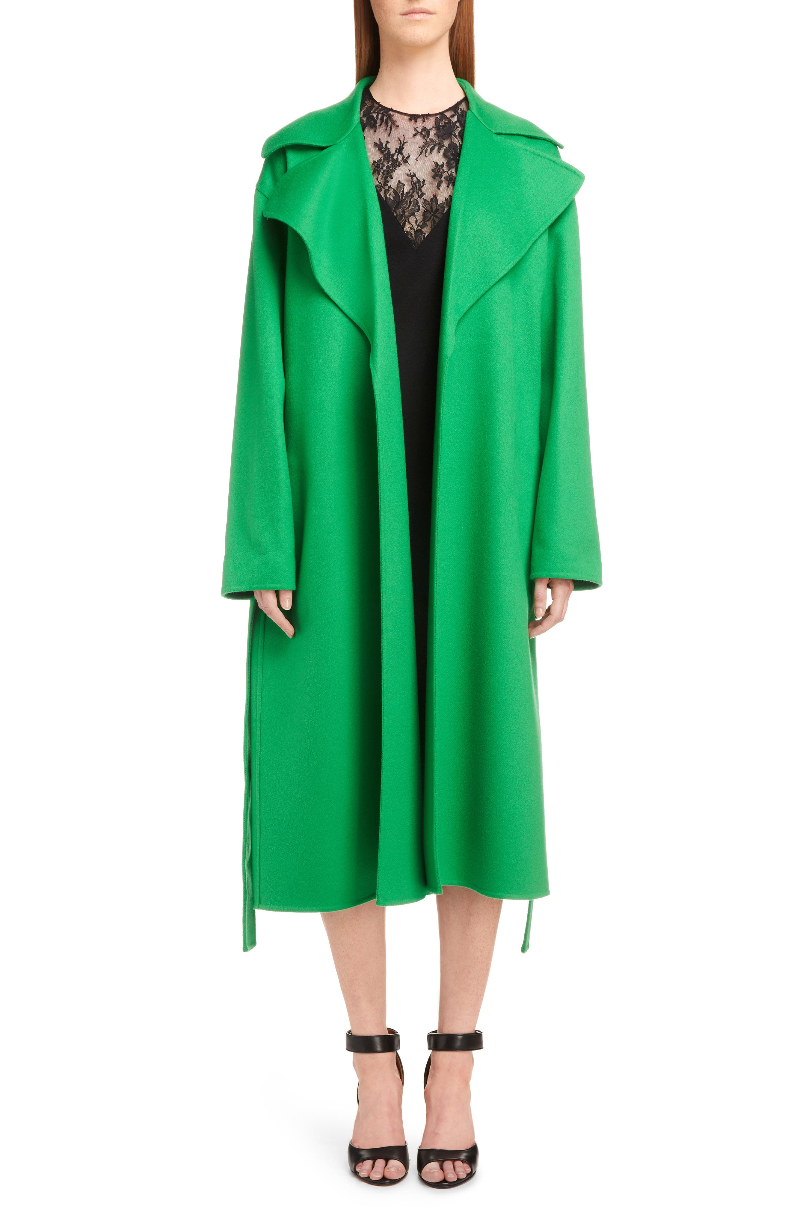 Lace Illusion Dress,                             Alternate thumbnail 6, color,                             001-BLACK