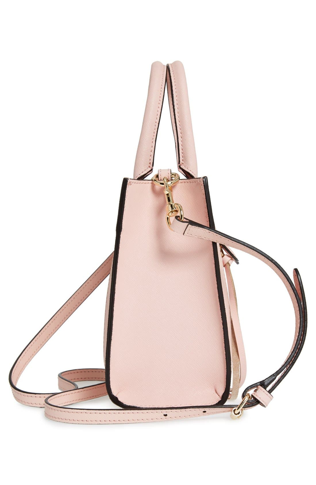 'Mini MAB Tote' Crossbody Bag,                             Alternate thumbnail 90, color,