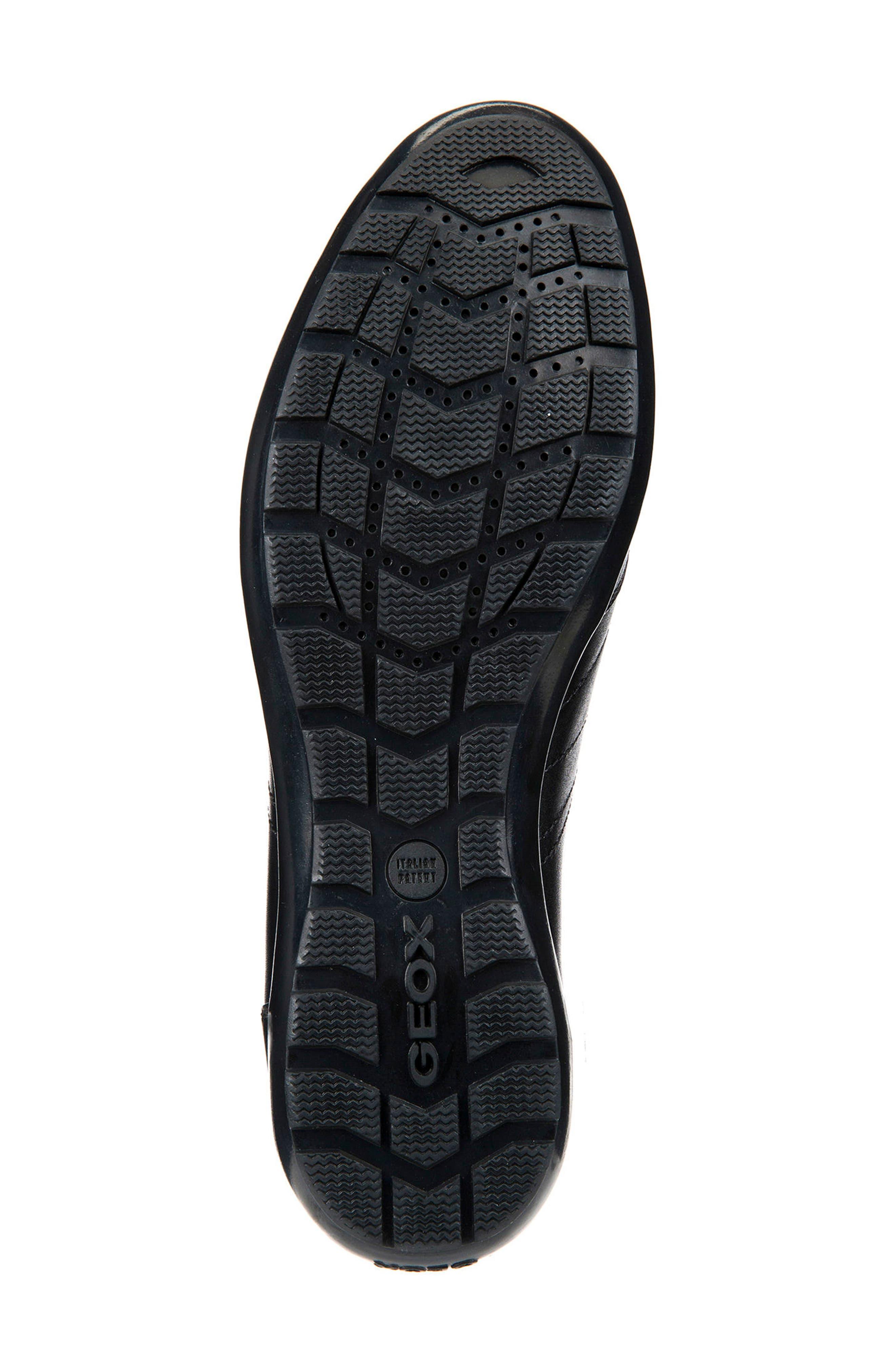 Symbol 21 Slip-On Sneaker,                             Alternate thumbnail 5, color,                             BLACK LEATHER