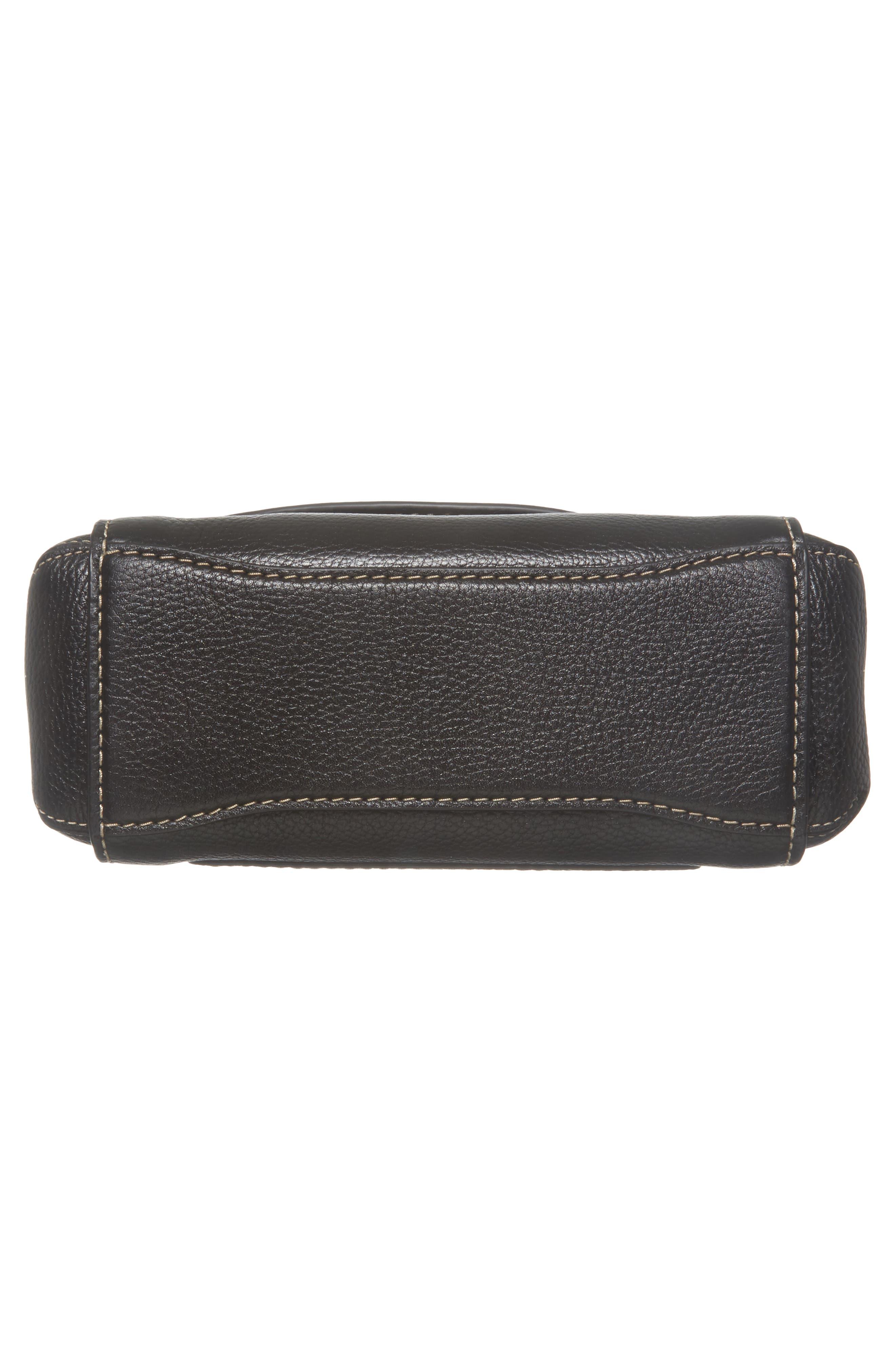 Mini The Boho Grind Leather Shoulder Bag,                             Alternate thumbnail 6, color,                             014