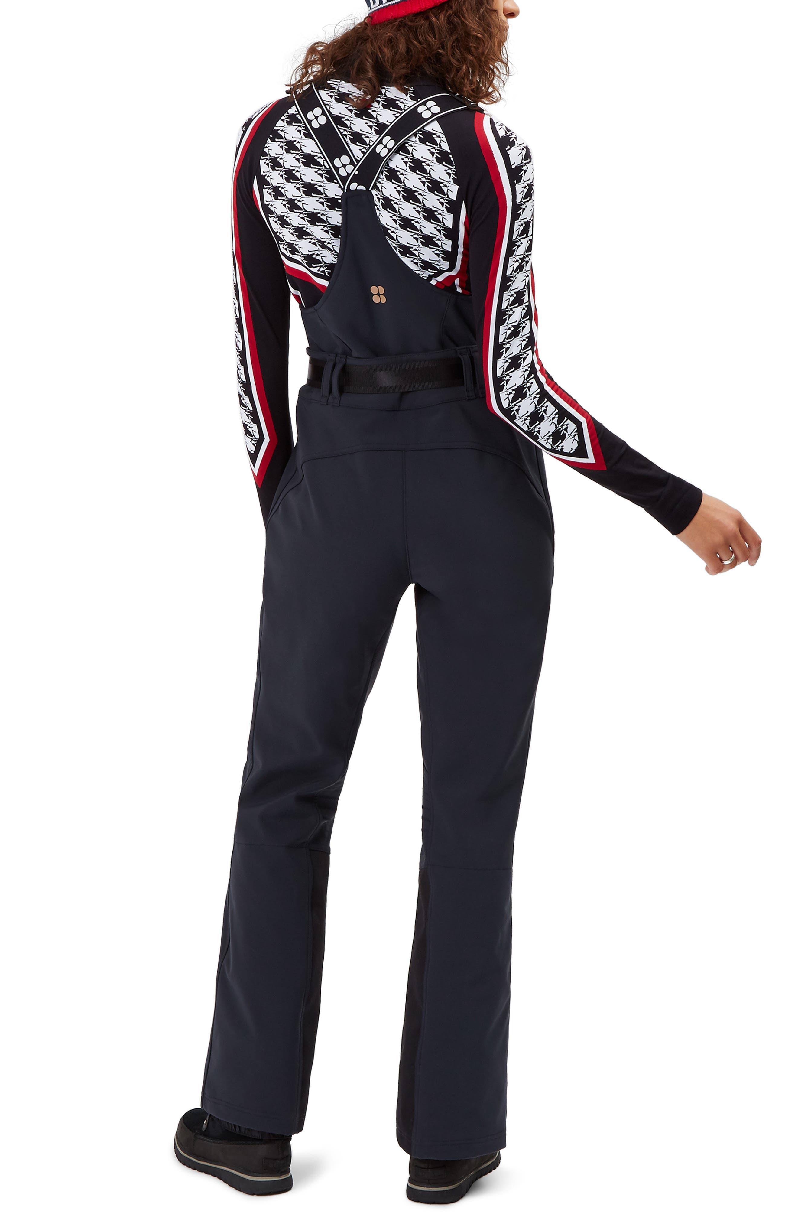 Astro Waterproof Soft Shell Ski Pants,                             Alternate thumbnail 2, color,                             BLACK