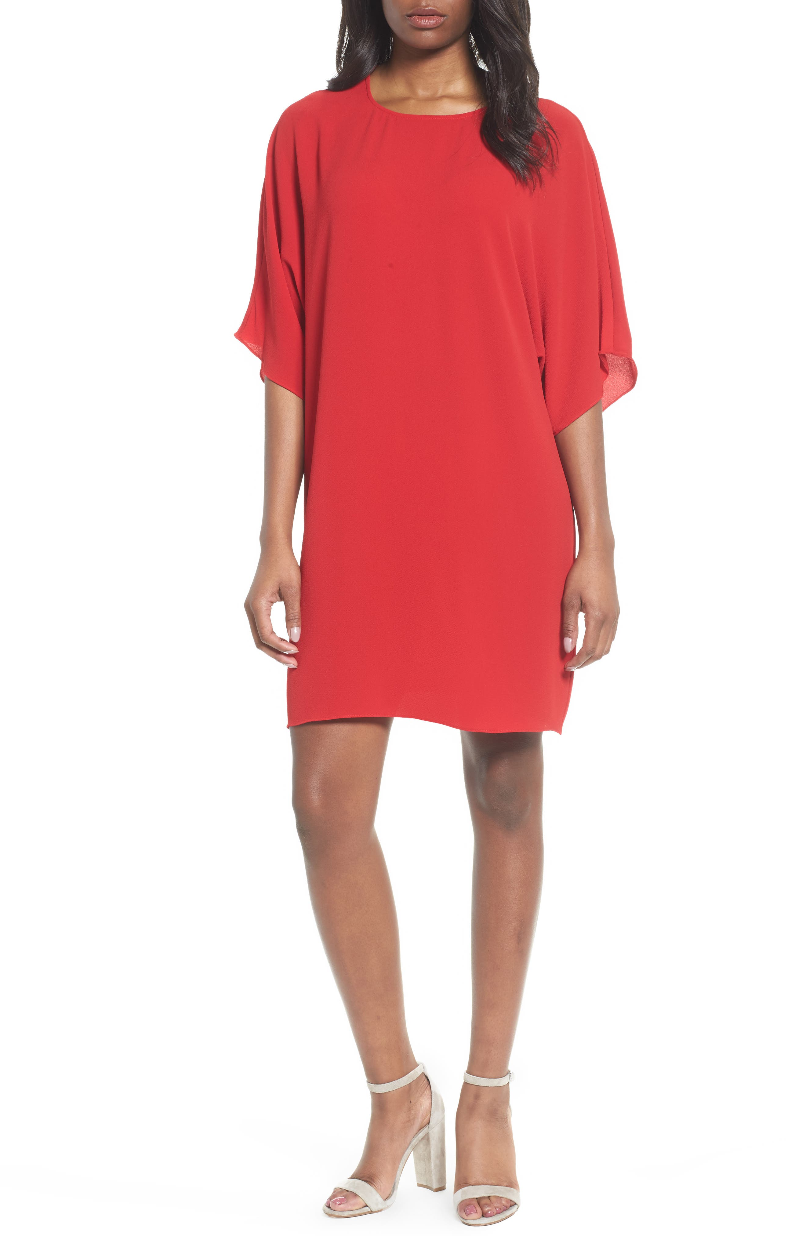 Dolman Sleeve Dress,                             Main thumbnail 1, color,                             614