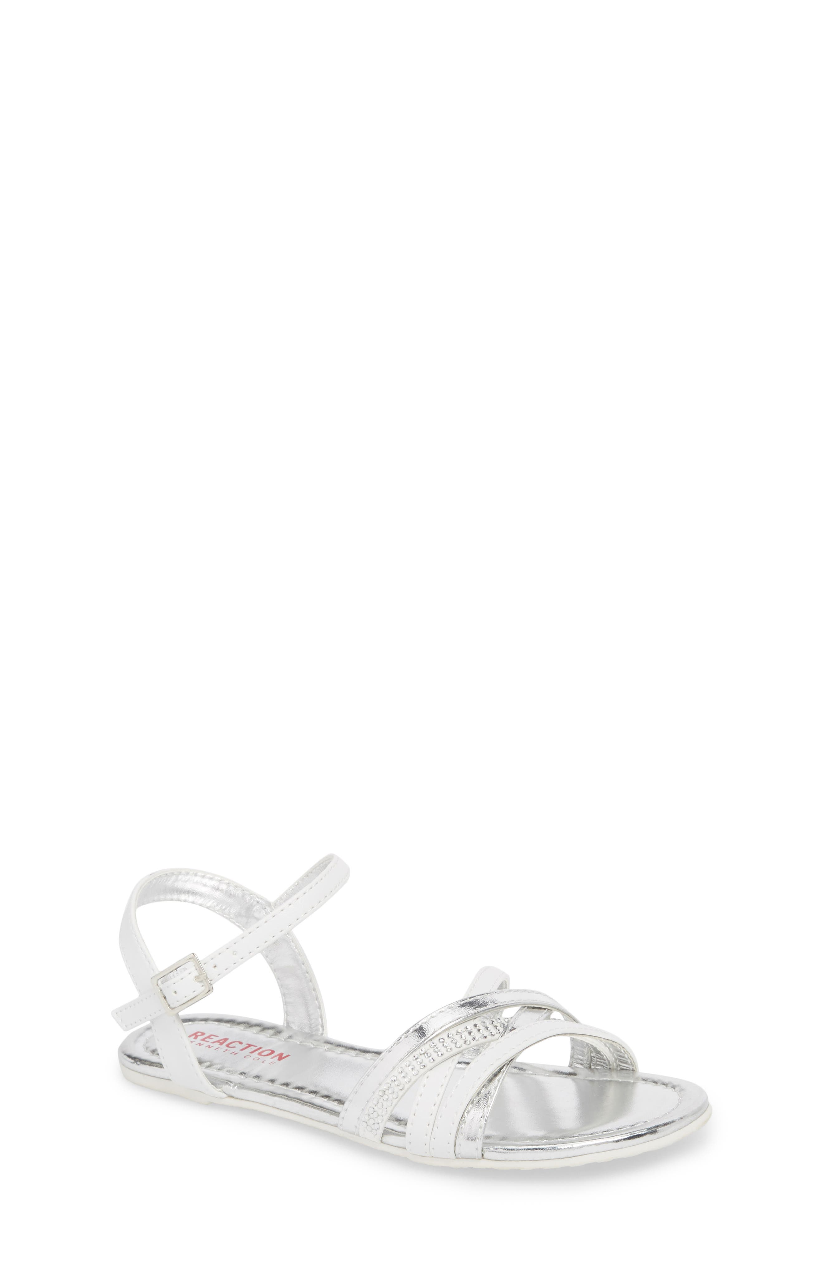 Kiera Getty Crystal Sandal,                         Main,                         color, 100