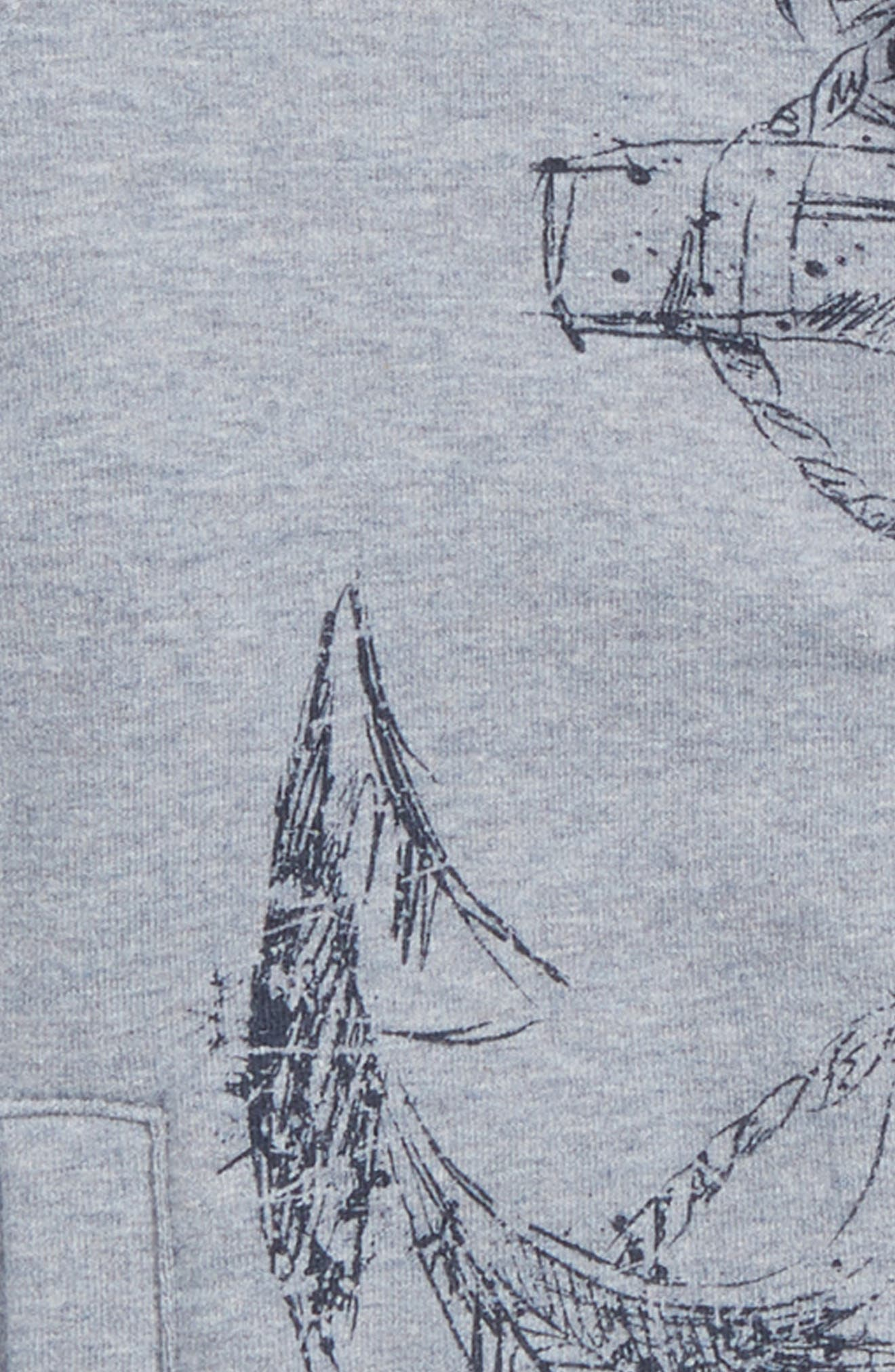 Anchor Zip Sweatshirt,                             Alternate thumbnail 2, color,                             022