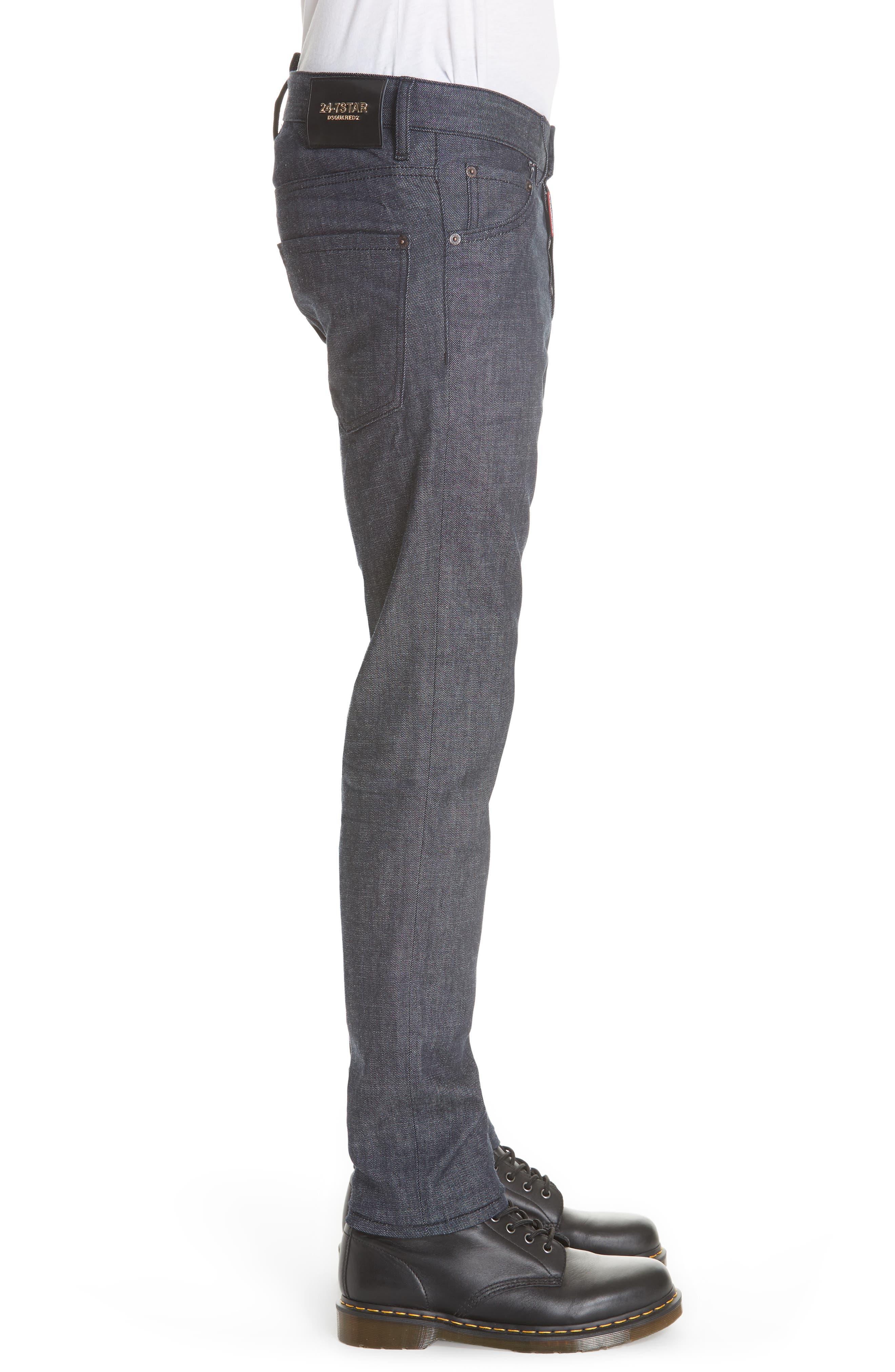 Cool Guy Jeans,                             Alternate thumbnail 3, color,                             DARK WASH