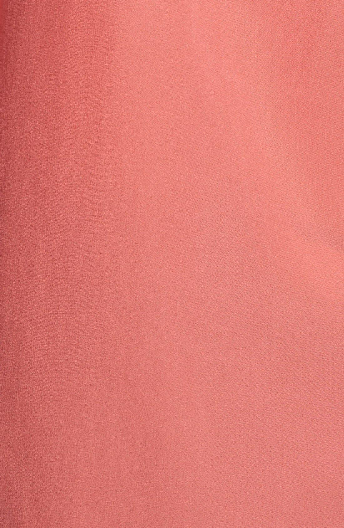 'Slim Signature' Sleeveless Silk Shirt,                             Alternate thumbnail 142, color,
