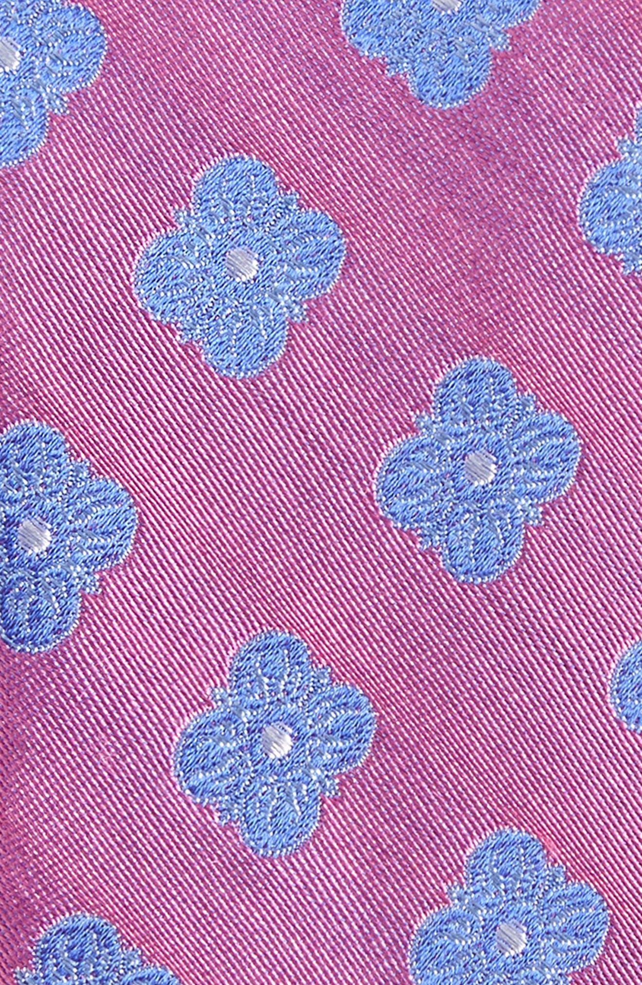 Cameron Floral Medallion Silk Tie,                             Alternate thumbnail 17, color,
