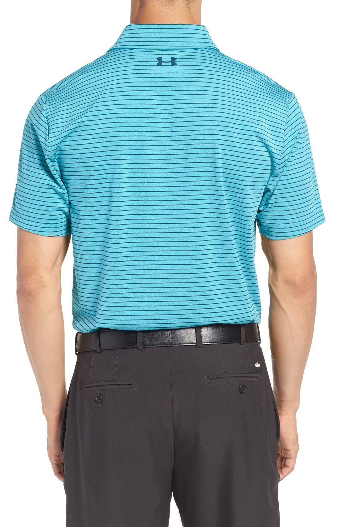 'Playoff' Loose Fit Short Sleeve Polo,                             Alternate thumbnail 101, color,
