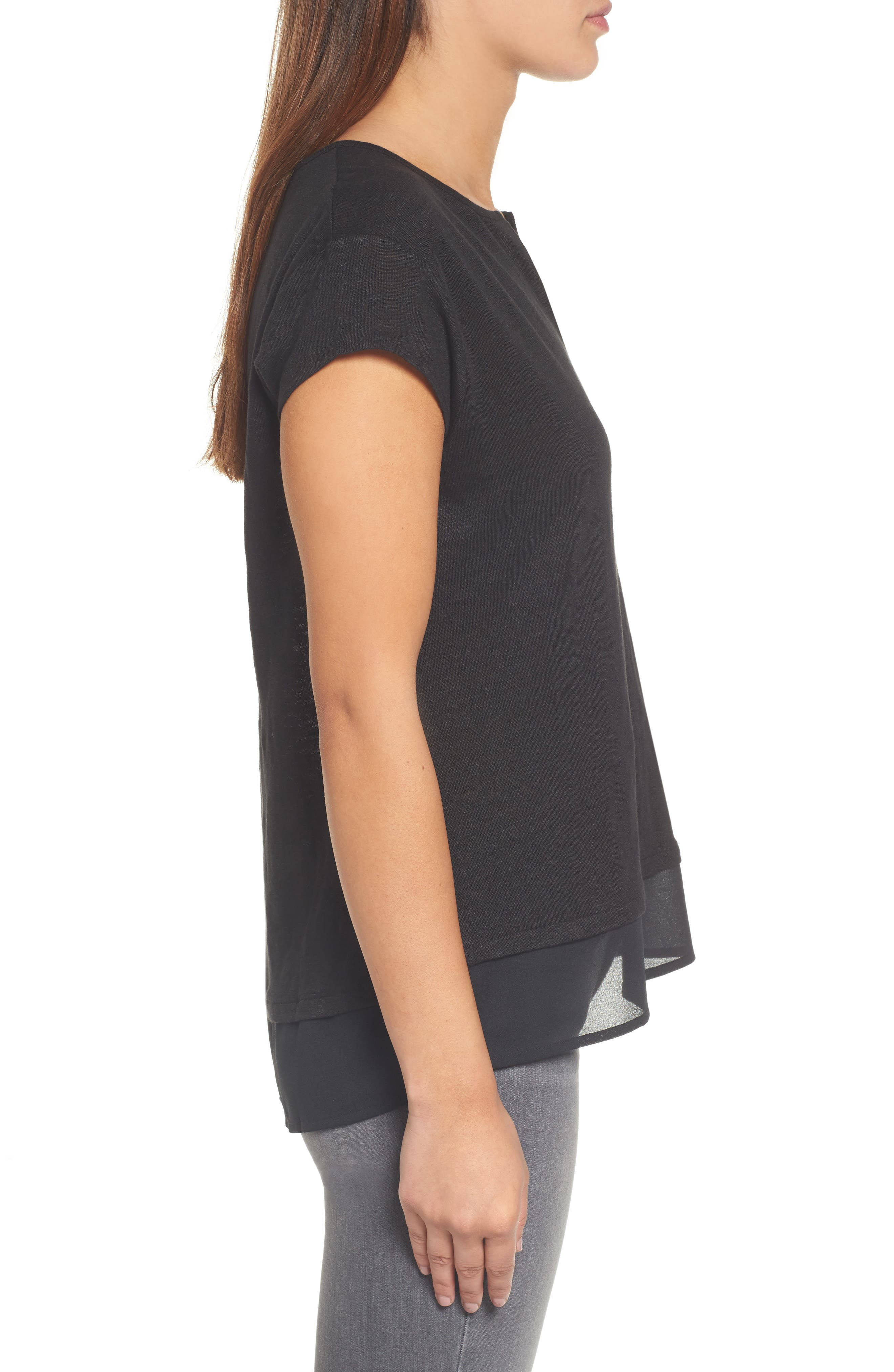 City Mix Layered Look Tee,                             Alternate thumbnail 67, color,