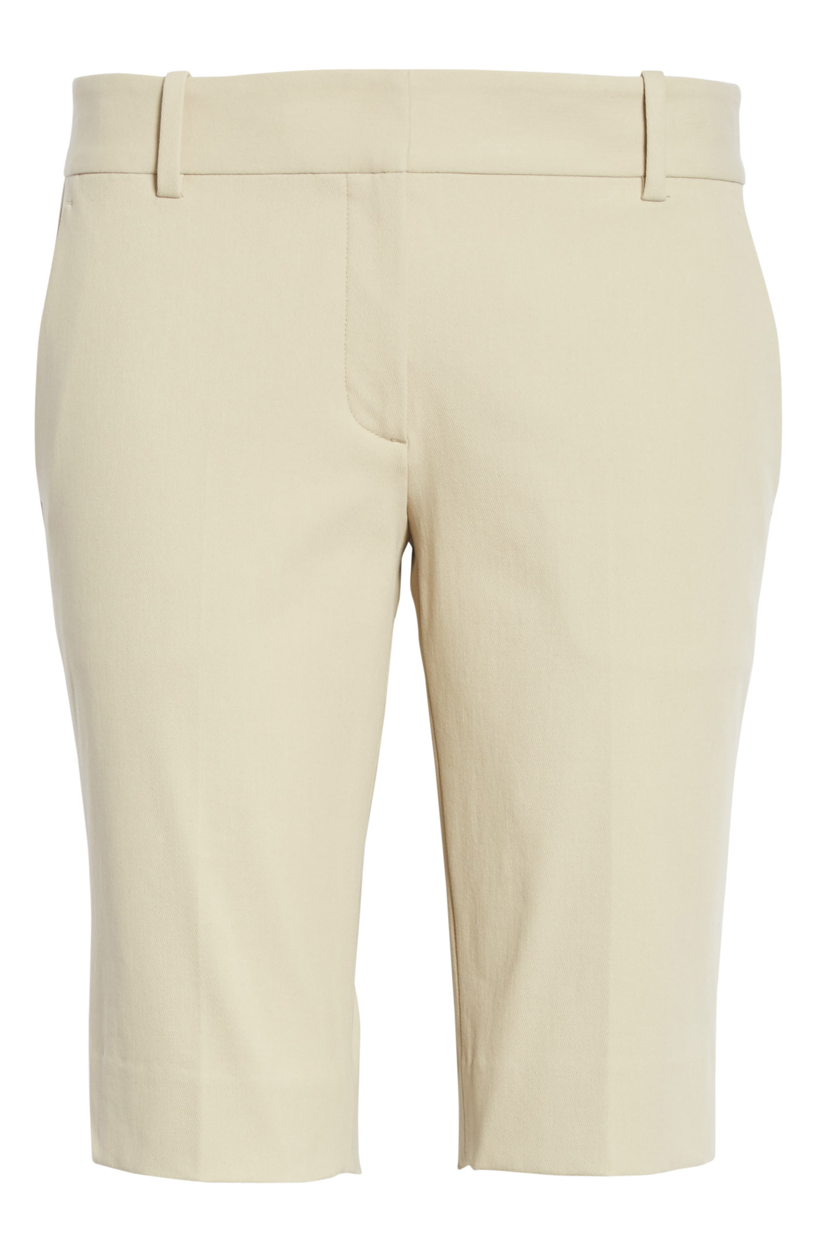 Approach Stretch Twill Slim Bermuda Shorts,                             Alternate thumbnail 6, color,                             257