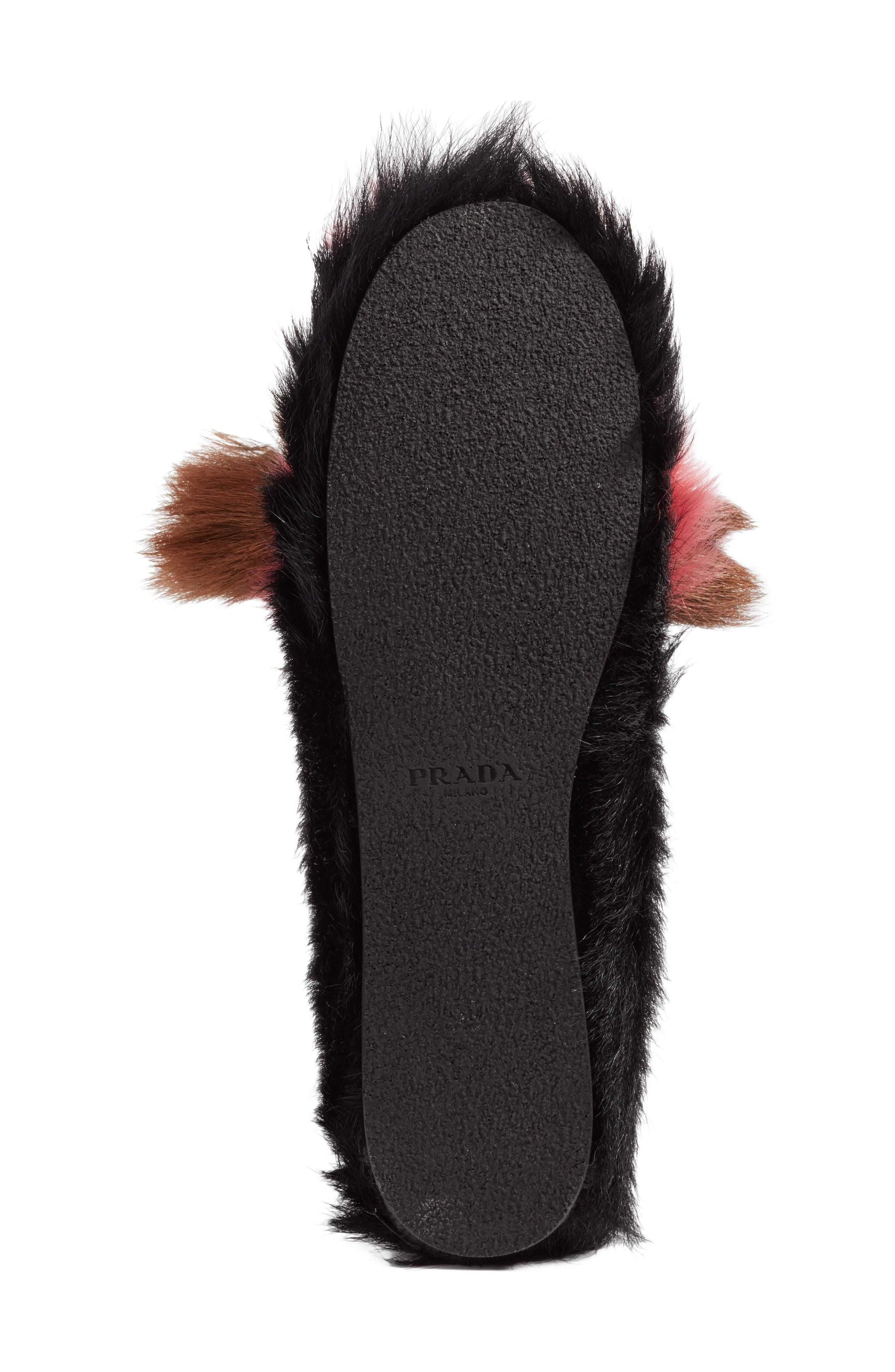 Genuine Goat Hair Loafer,                             Alternate thumbnail 6, color,                             200