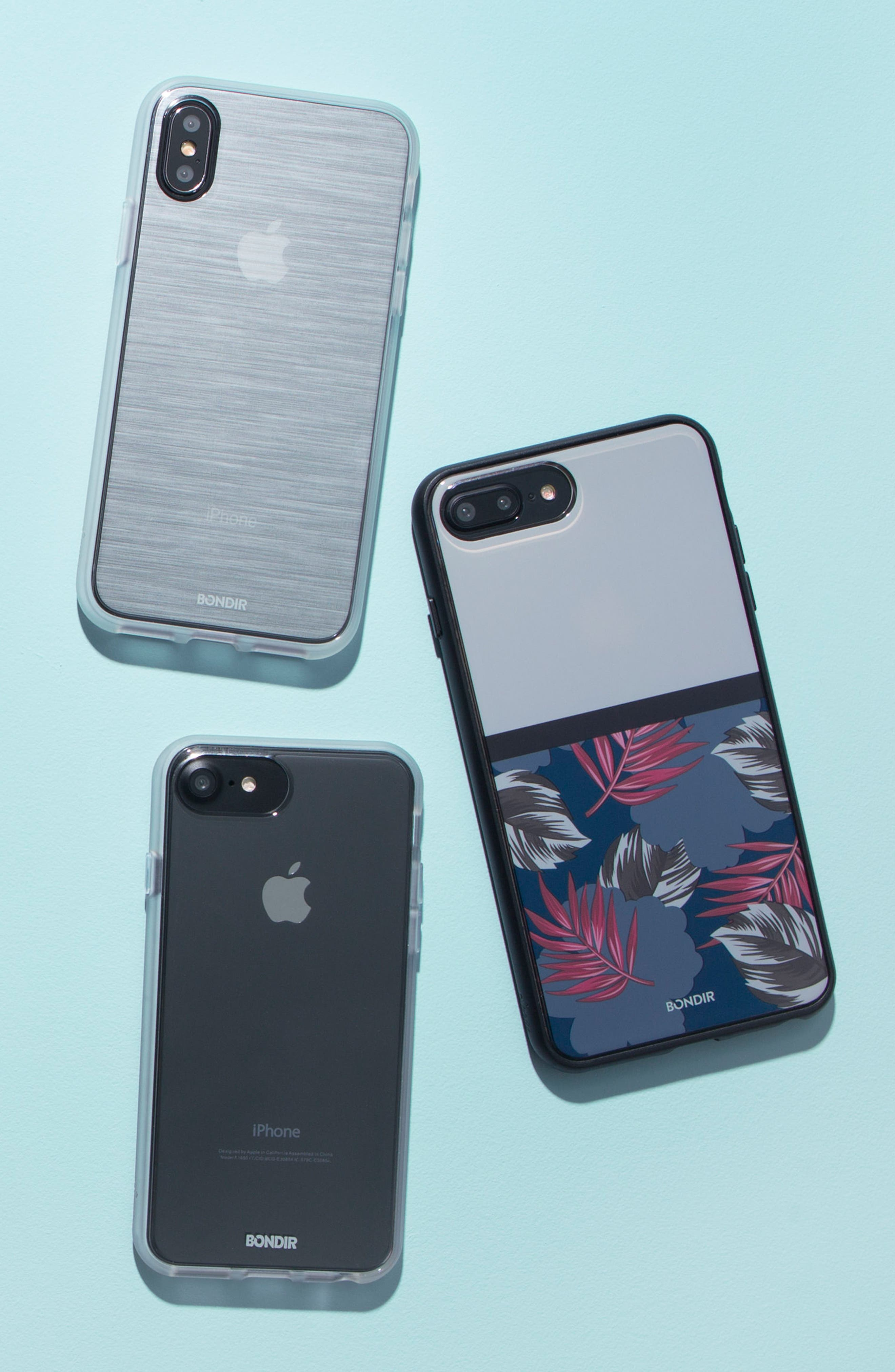 Mist iPhone X & XsXsPlus Case,                             Alternate thumbnail 3, color,