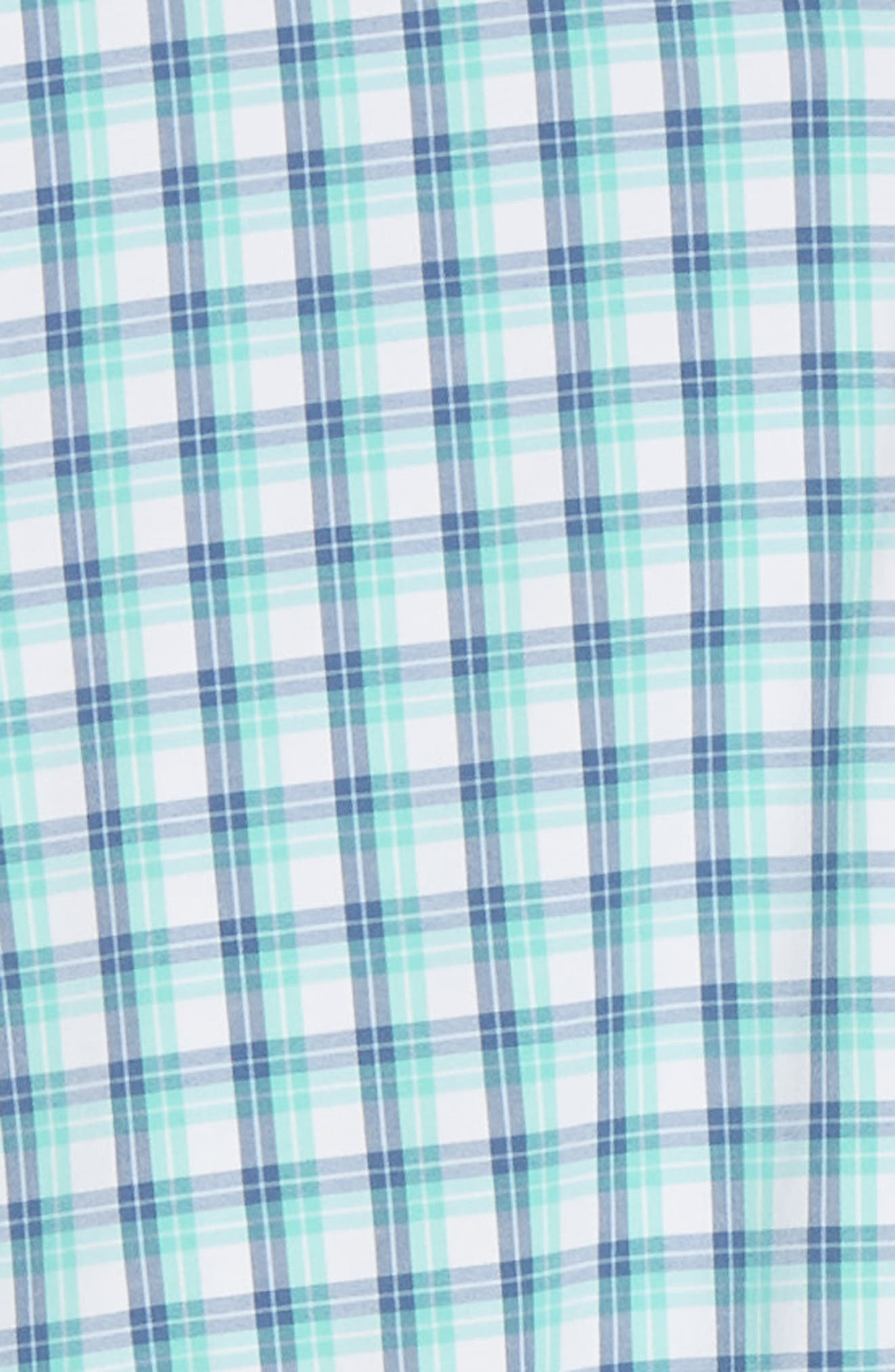 VINEYARD VINES,                             South Street Tucker Slim Fit Sport Shirt,                             Alternate thumbnail 6, color,                             CAPRI BLUE