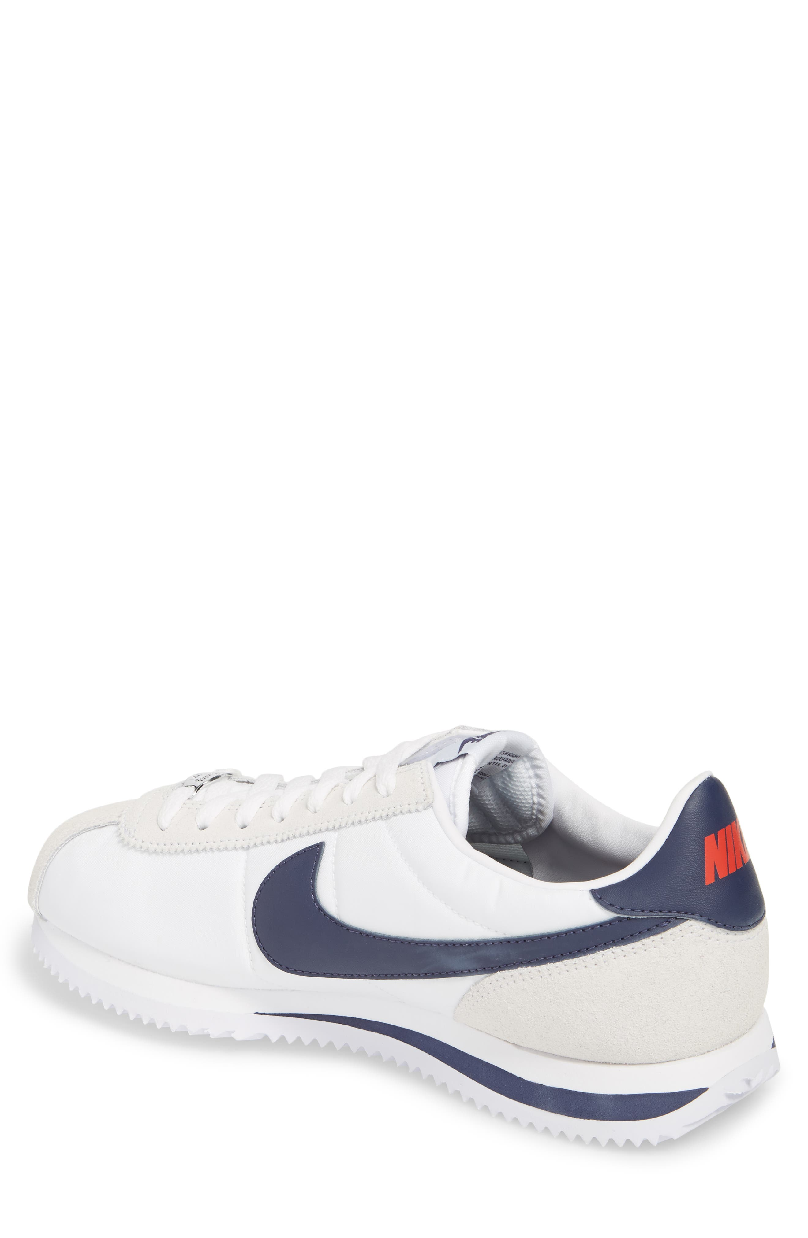 Cortez Basic Nylon Sneaker,                             Alternate thumbnail 2, color,                             102