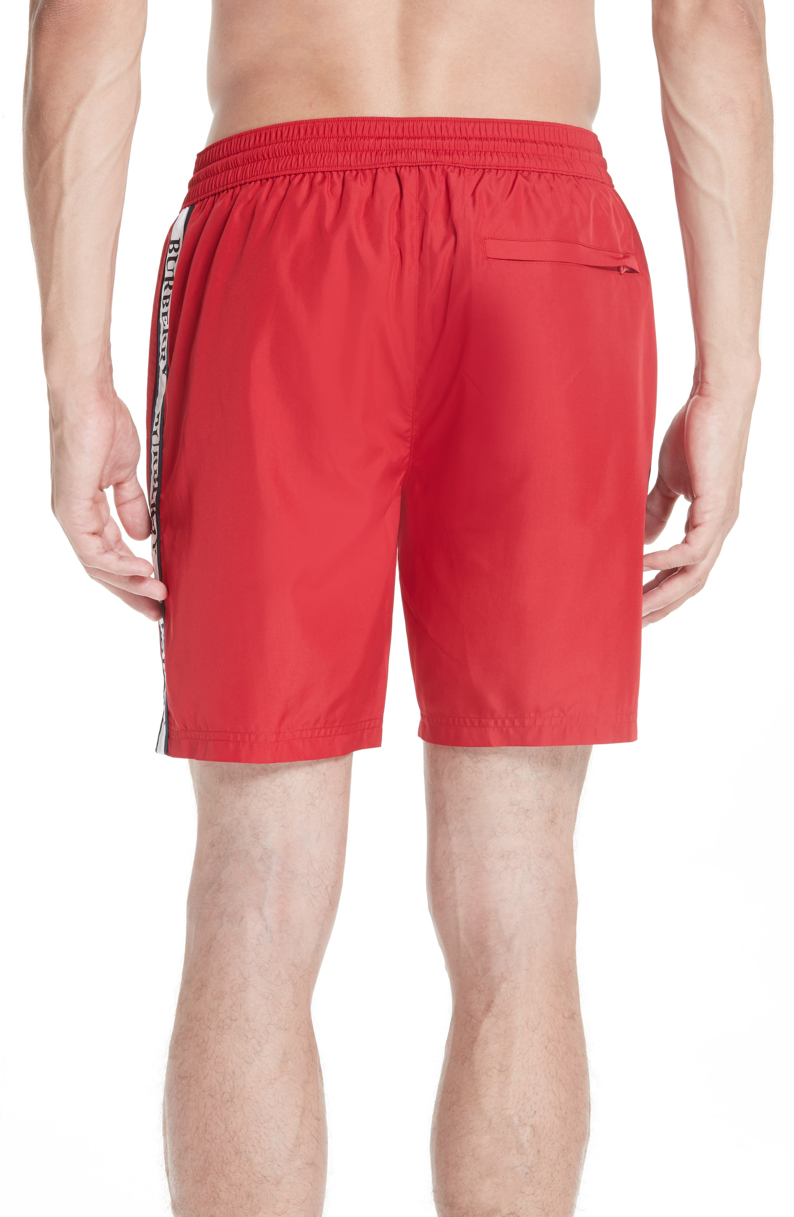 Guildes Swim Trunks,                             Alternate thumbnail 2, color,                             PARADE RED