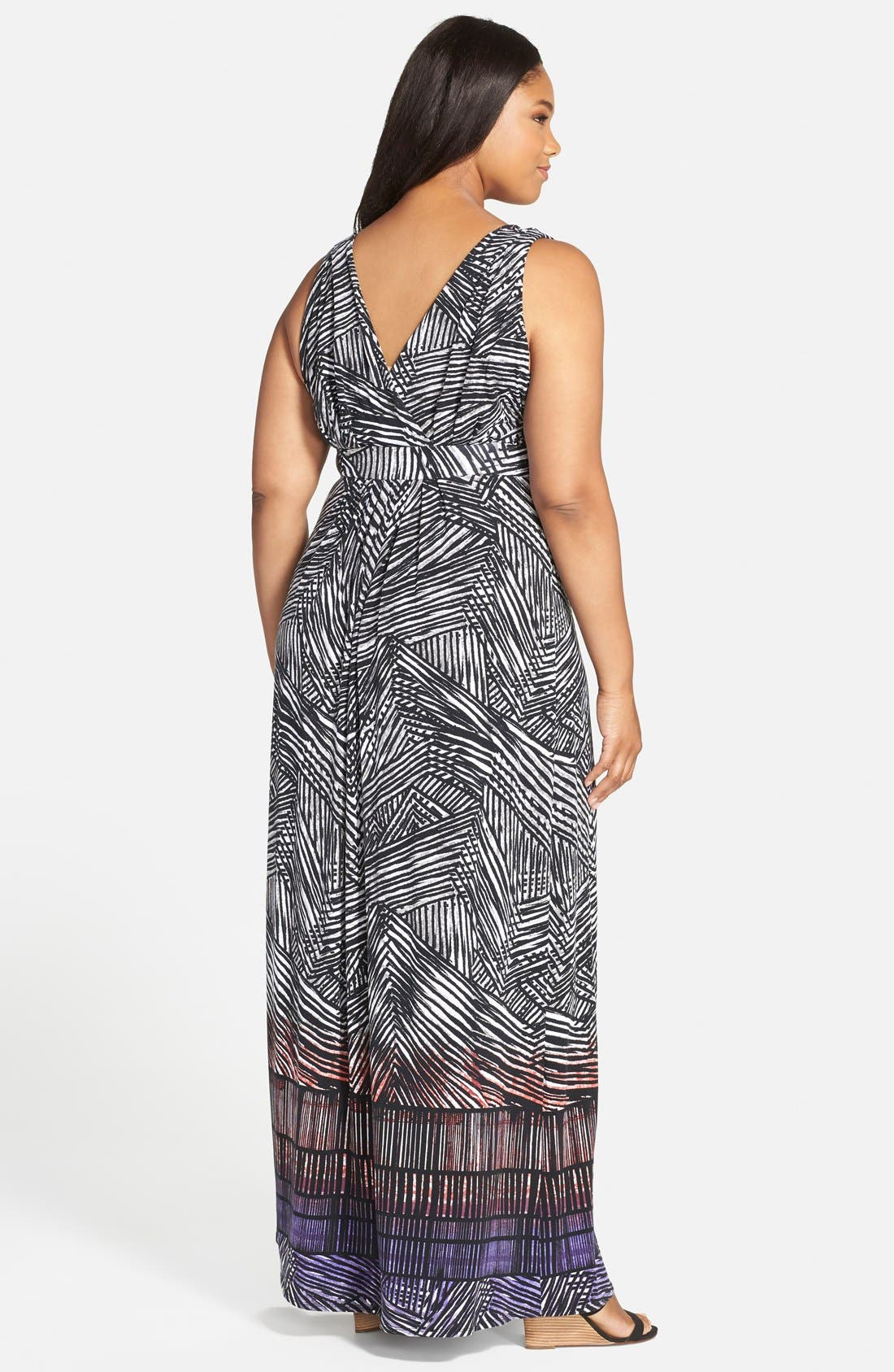 Chloe Empire Waist Maxi Dress,                             Alternate thumbnail 45, color,