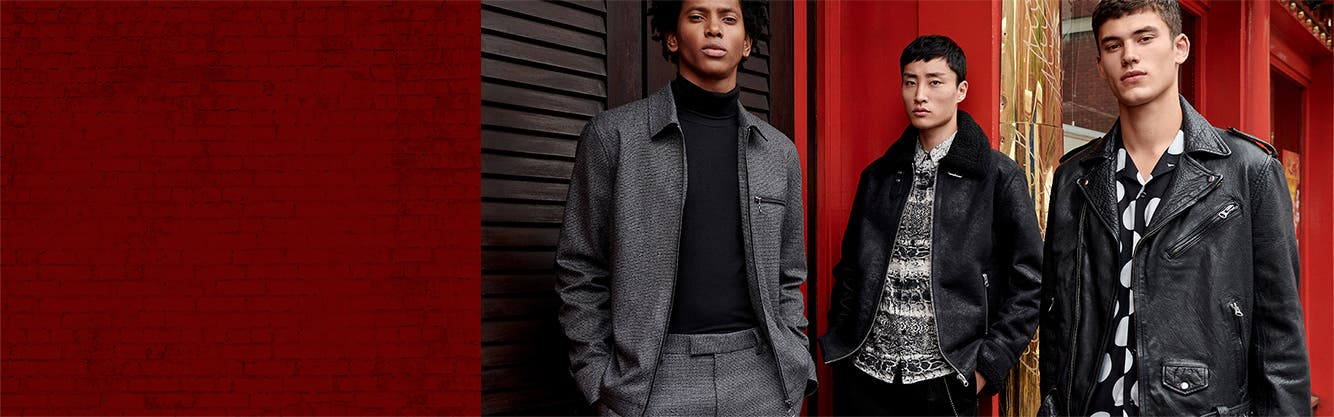 Mix masters: Topman's fall lineup.