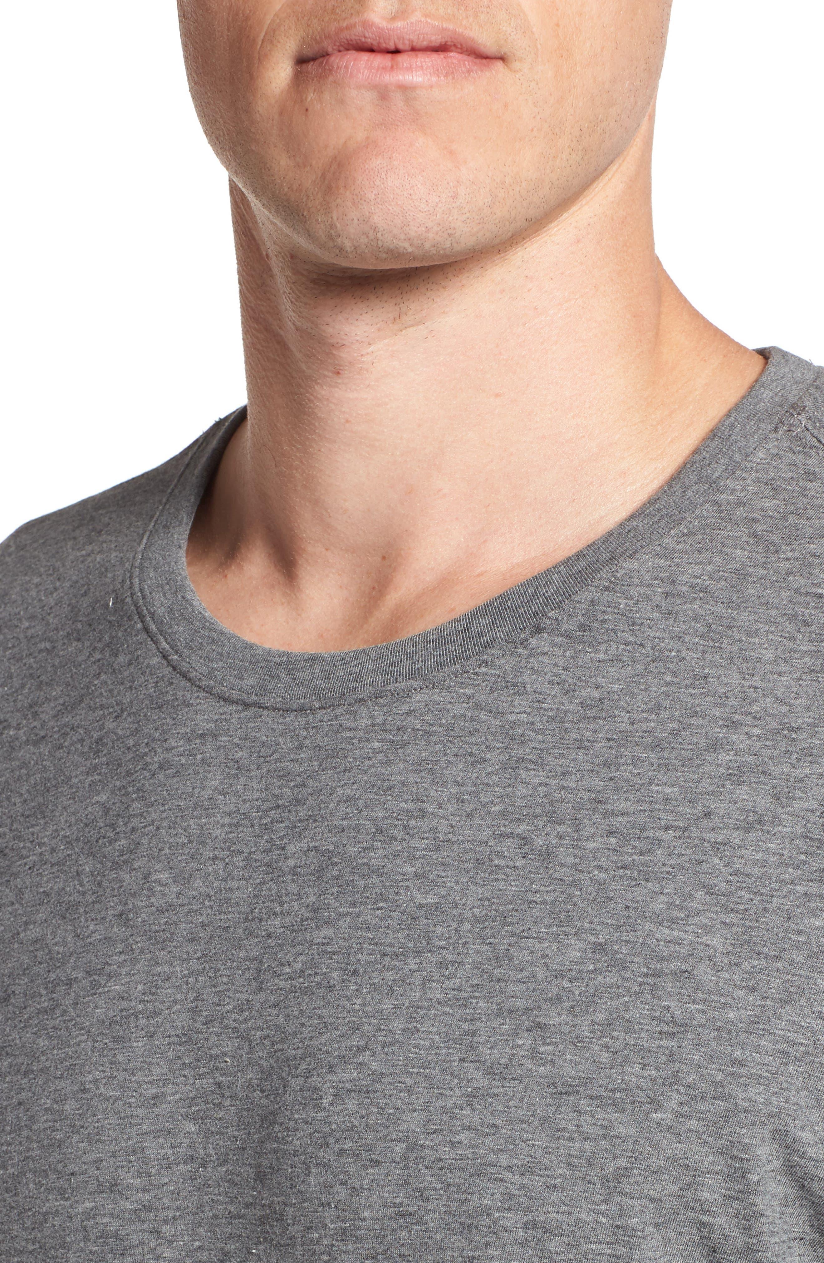 Peruvian Pima Cotton T-Shirt,                             Alternate thumbnail 4, color,                             031