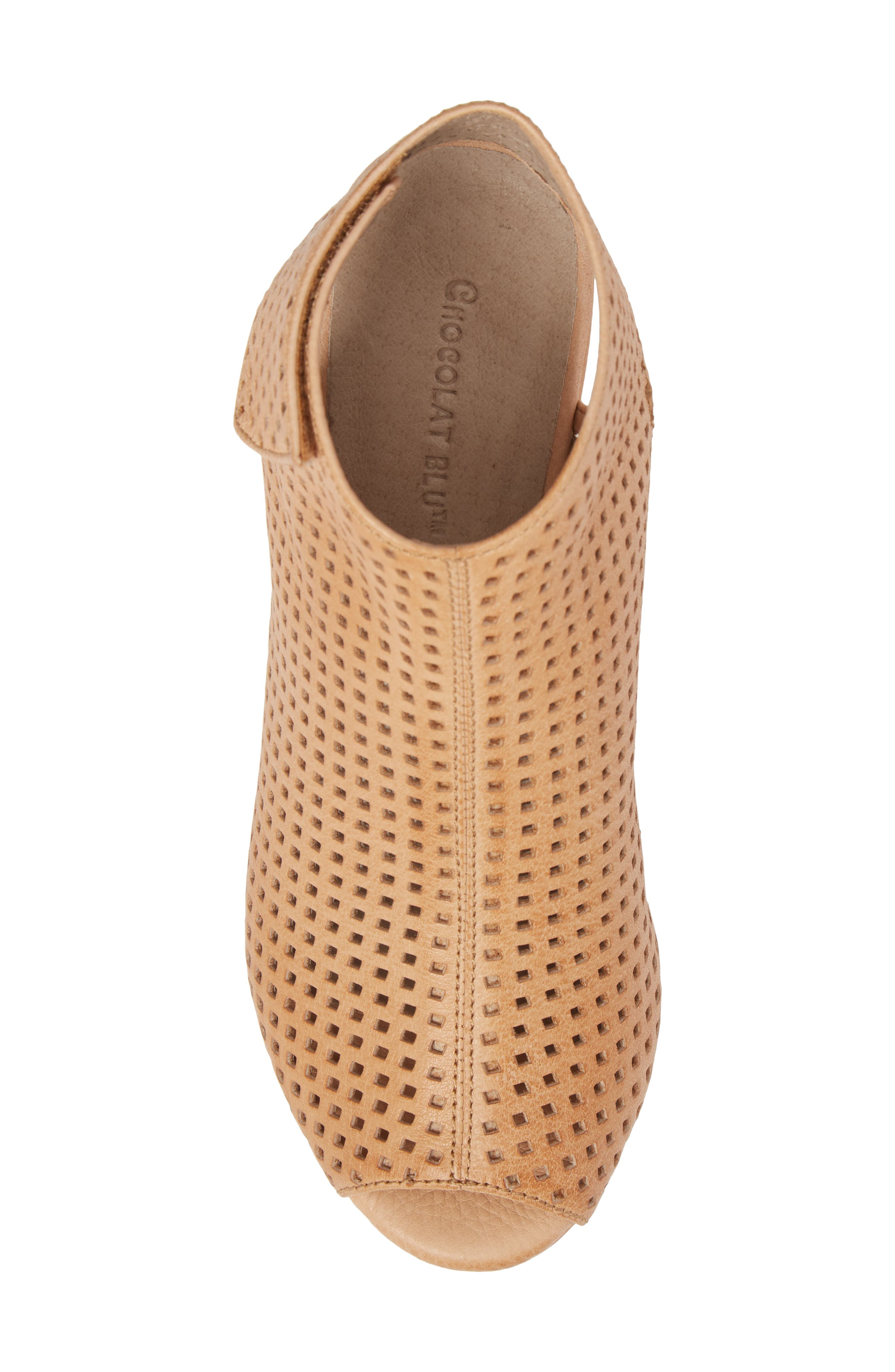 Wing Perforated Platform Wedge,                             Alternate thumbnail 5, color,                             200