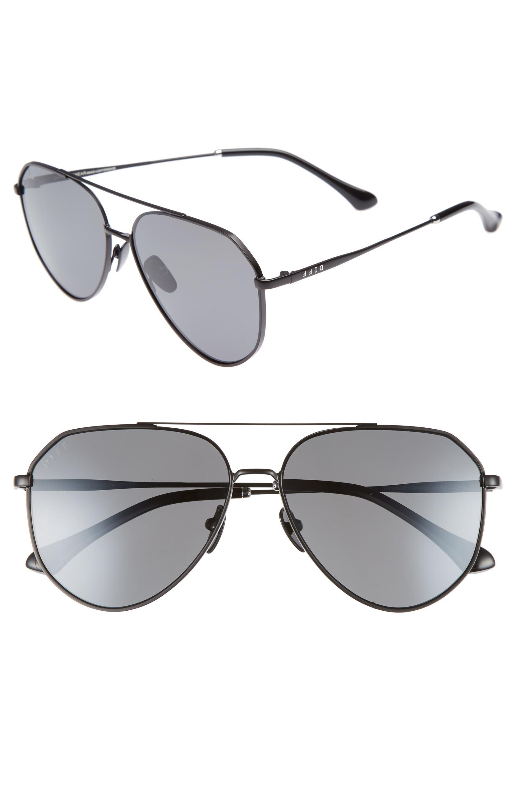 6d24681b645ca DIFF Dash 58mm Aviator Sunglasses