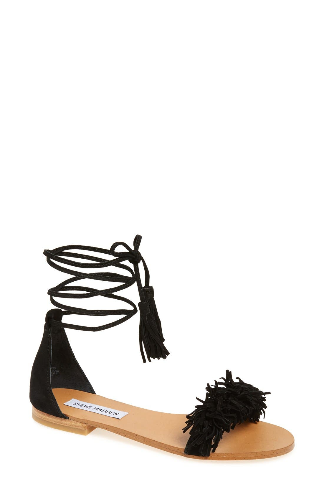 'Sweetyy' Lace-Up Sandal,                             Main thumbnail 1, color,                             006