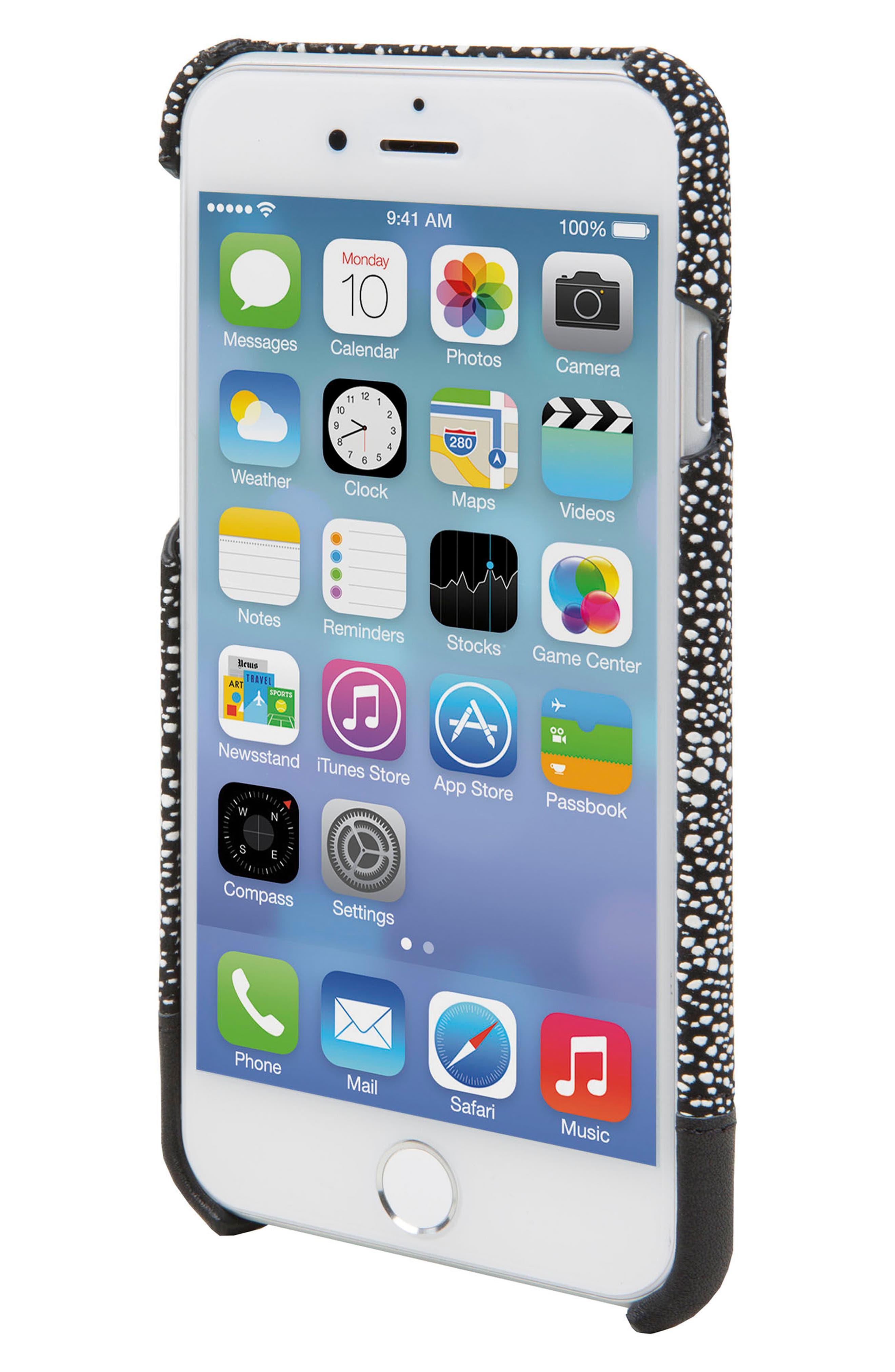 Focus Leather iPhone 6/6s/7/8 Case,                             Alternate thumbnail 2, color,                             004