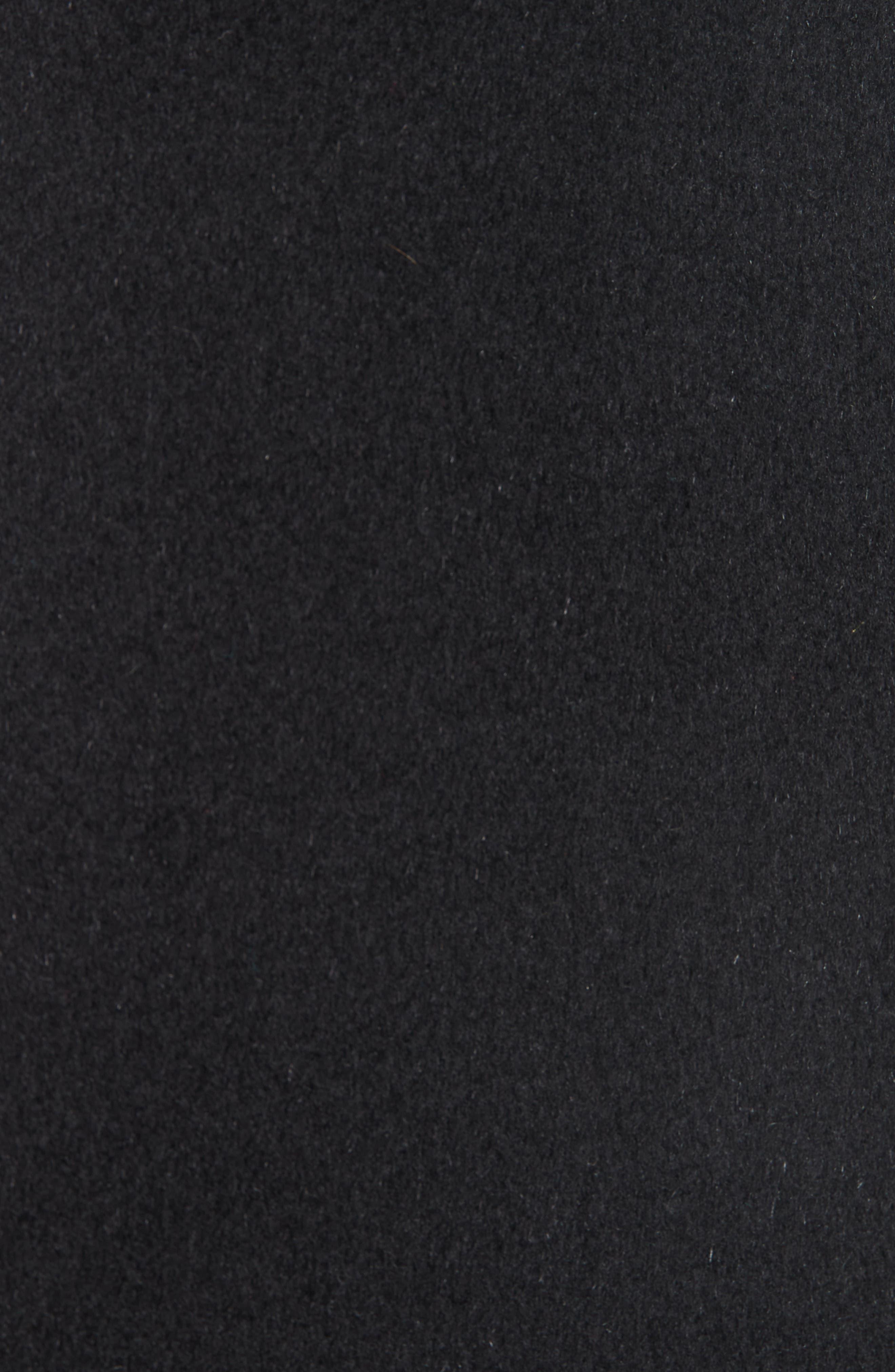 Cookie Studded Wool & Cashgora Jacket,                             Alternate thumbnail 6, color,                             BLACK